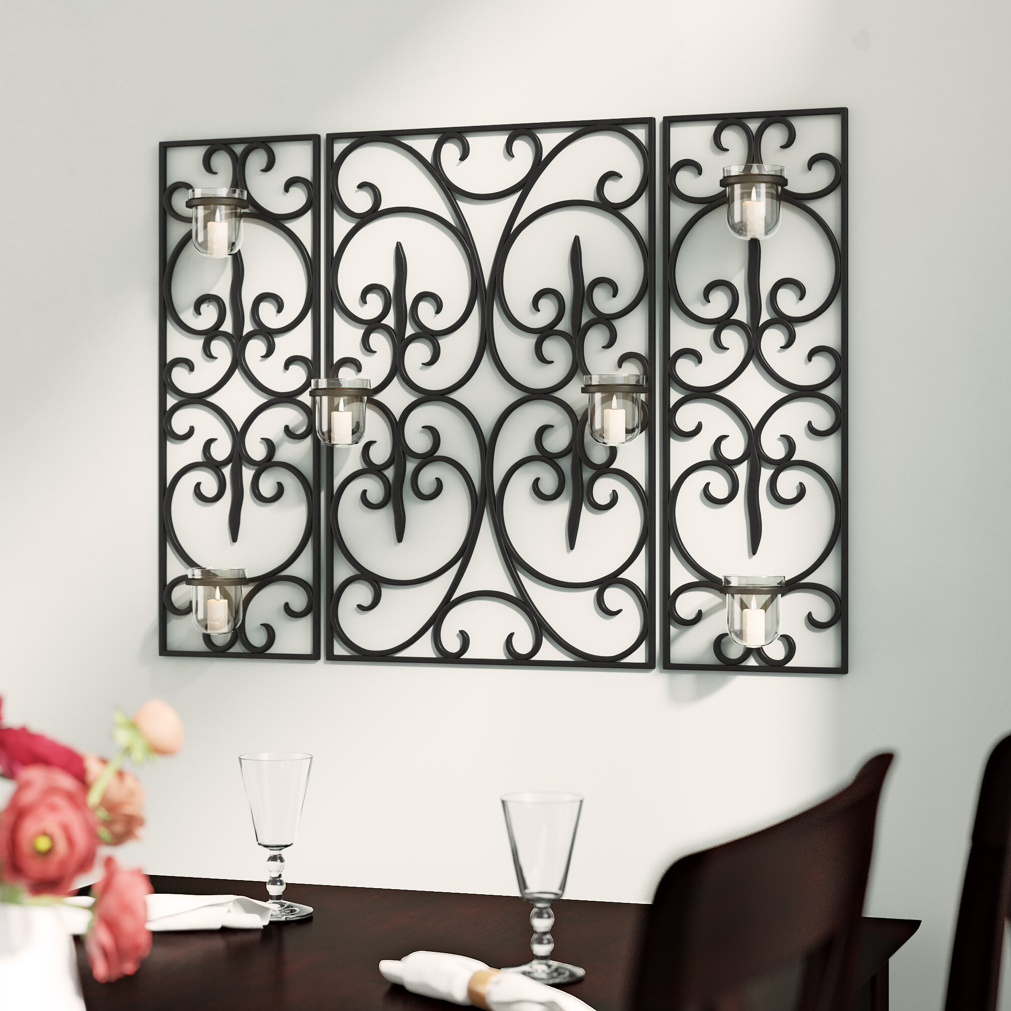 Best And Newest Chrome Metal Accents Wall Accents You'll Love In (View 7 of 17)