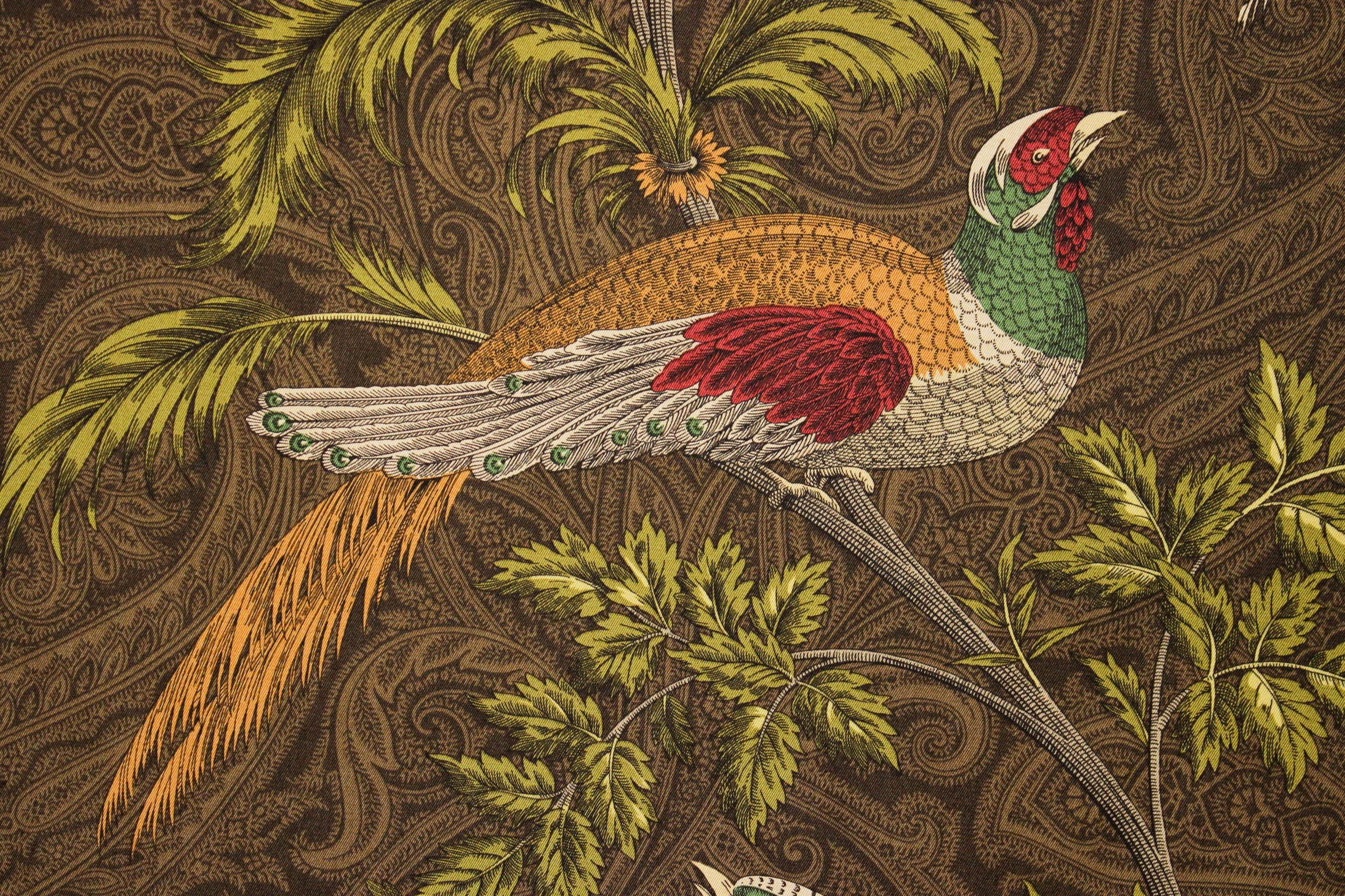 Bird Embroidery, Pheasant Hunting (View 14 of 20)