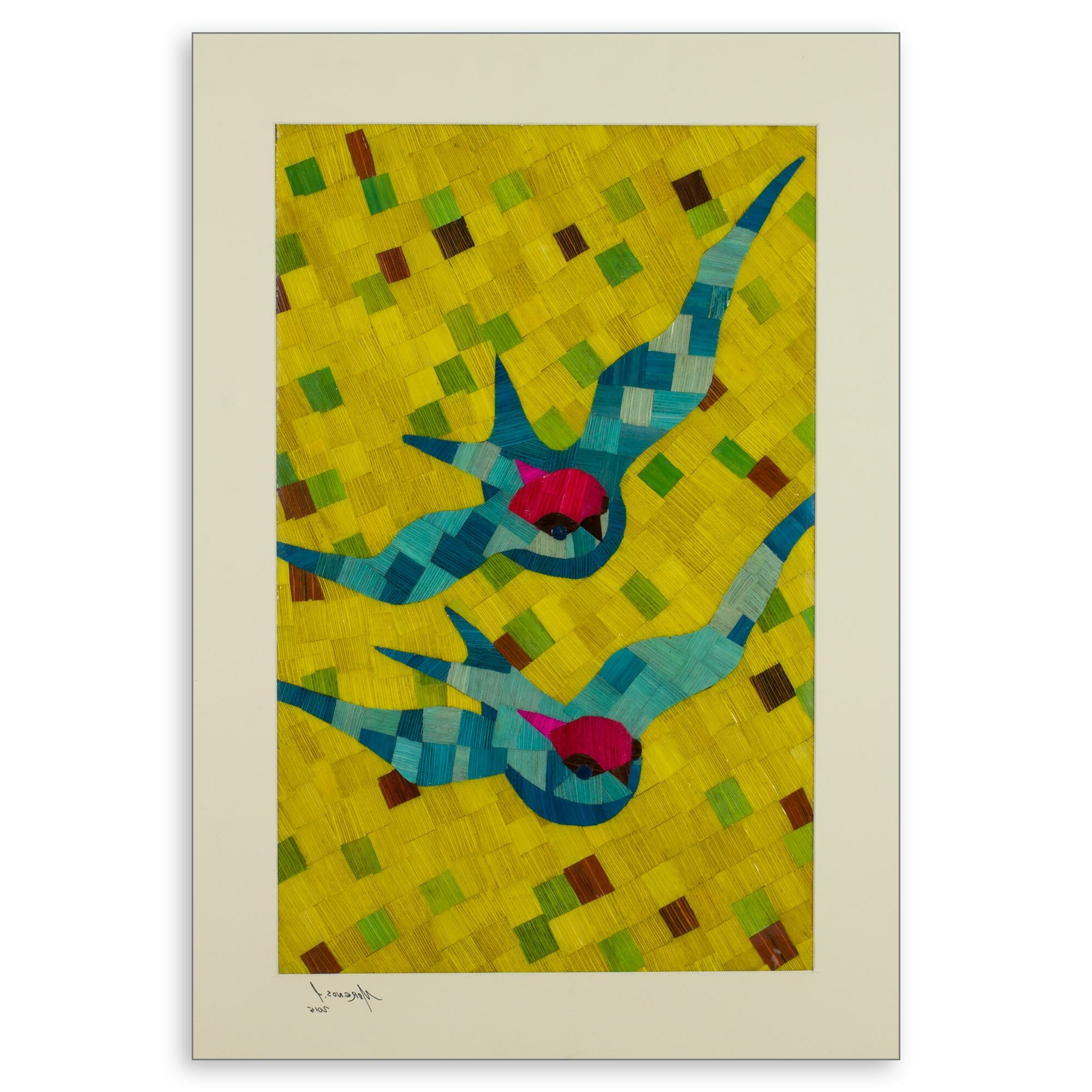 'bird Swallows' Painting Regarding Best And Newest Swallows Wall Decor (set Of 6) By Highland Dunes (View 9 of 20)