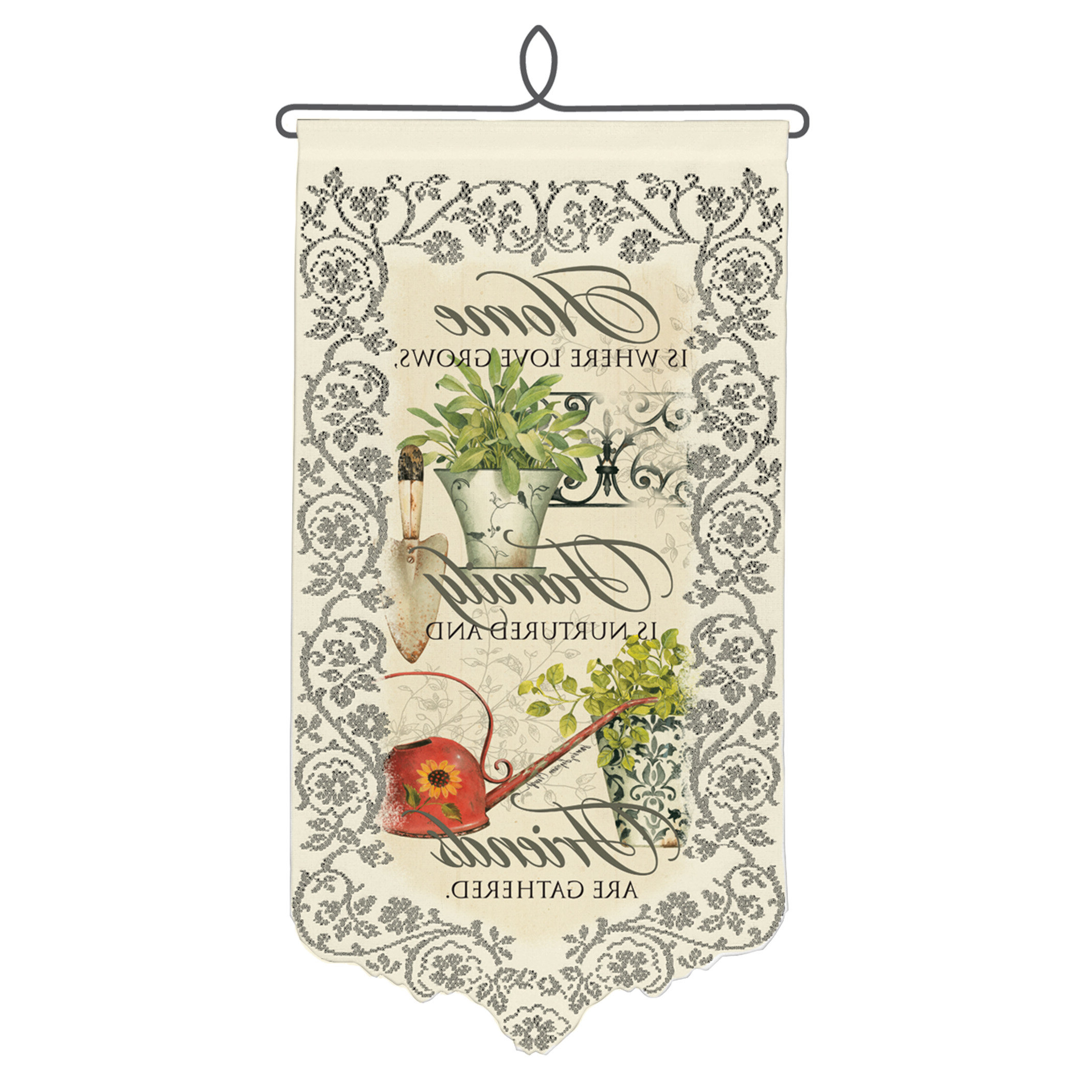 Blended Fabric Autumn Tranquility Verse Wall Hangings Pertaining To Widely Used Spiritual & Inspirational Tapestries You'll Love In (View 12 of 20)
