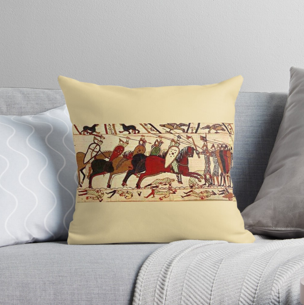Blended Fabric Bayeux William Troops Wall Hangings Throughout Recent Bayeux Tapestry. Battle Of Hastings (View 13 of 20)