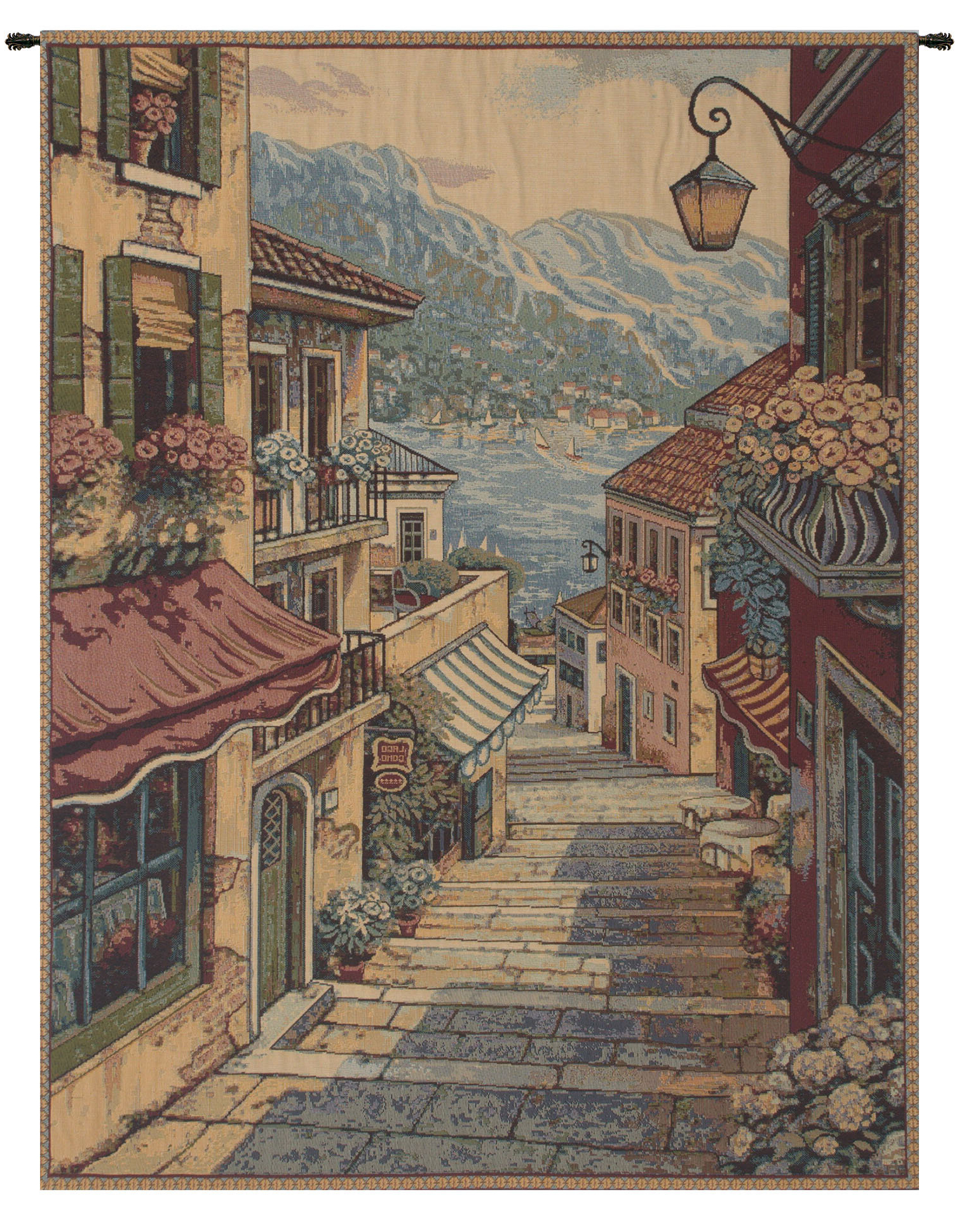 Featured Photo of Blended Fabric Bellagio Scalinata Wall Hangings