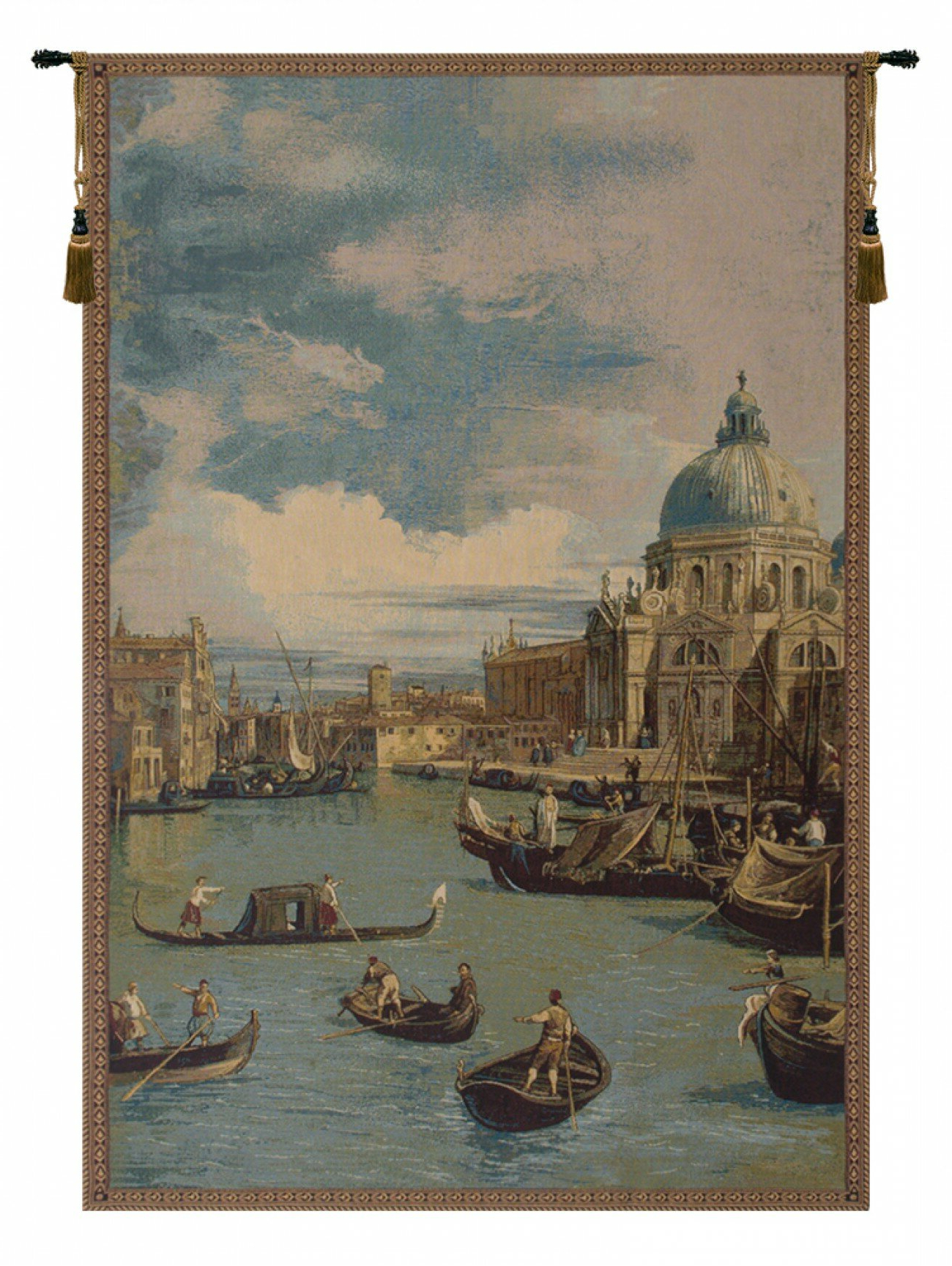 Blended Fabric Bellagio Scalinata Wall Hangings Regarding 2020 Italian Wall Hanging (View 9 of 20)