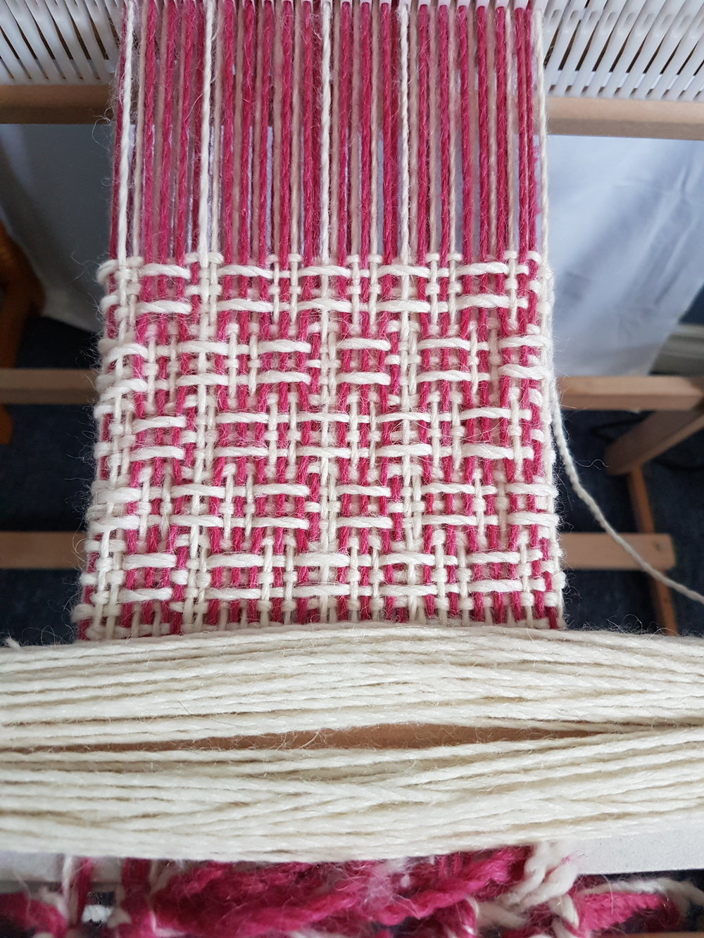 Blended Fabric Breeze Of Admiration Woven Tapestries In Best And Newest About Weaving — What's On The Loom — The Rogue Weaver (View 8 of 20)
