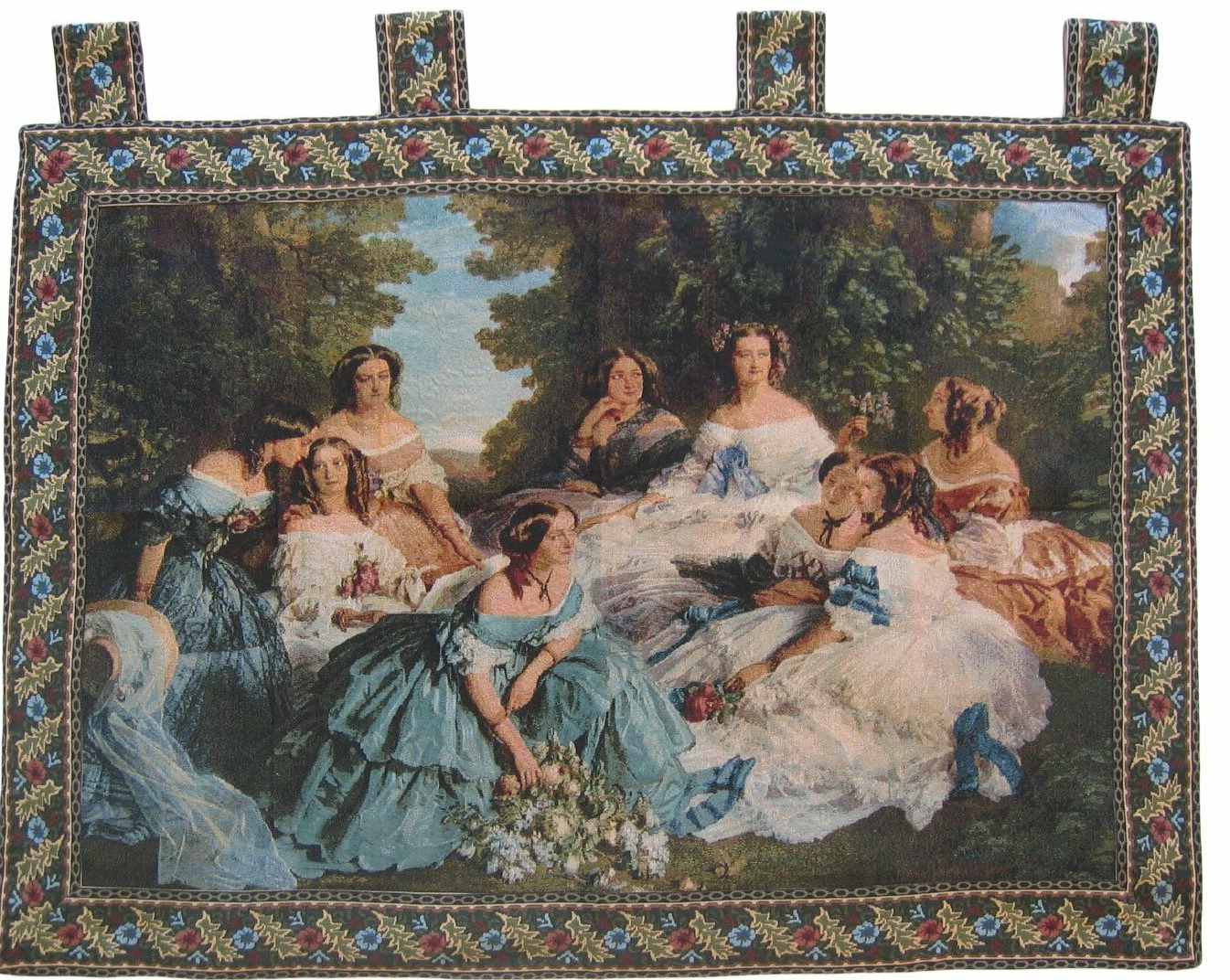 Blended Fabric Classic French Rococo Woven Tapestries With Regard To Most Recent Classic French Rococo Woven Tapestry (View 1 of 20)