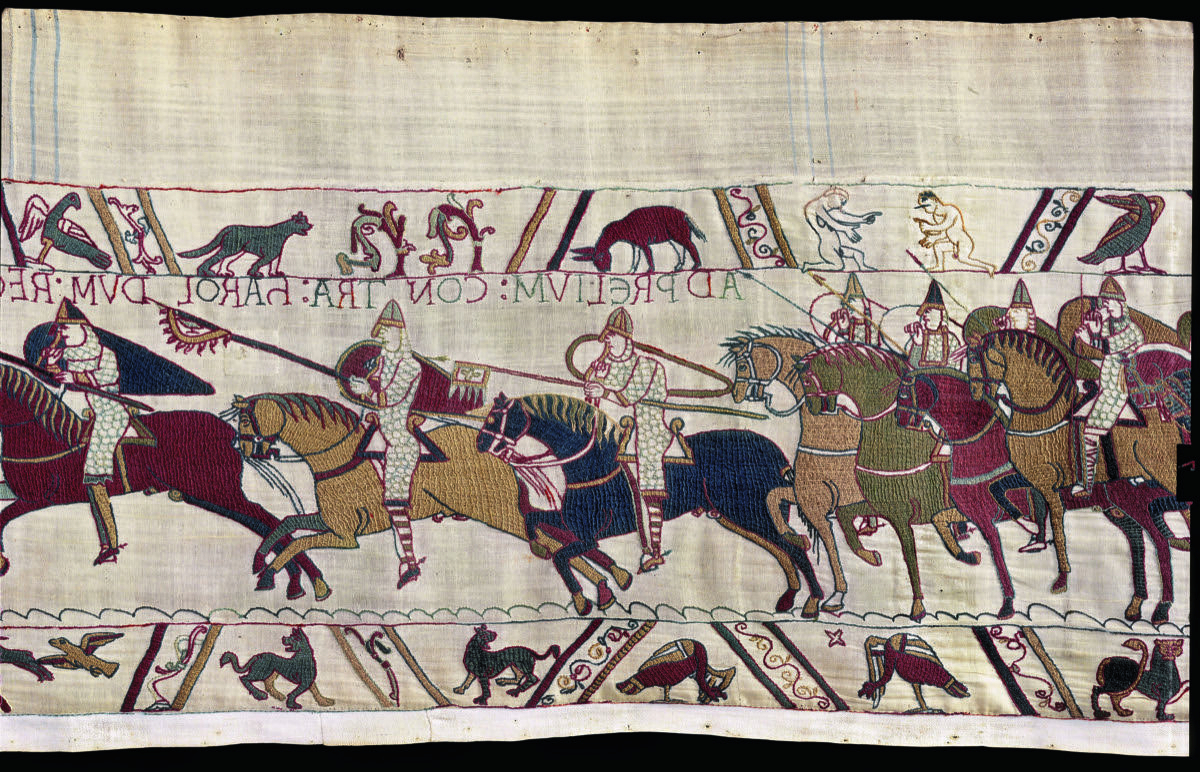 Blended Fabric European Five English Horses Tapestries With Regard To Most Recent This 1000 Year Old Tapestry Chronicles The Epic Battle For (View 11 of 20)