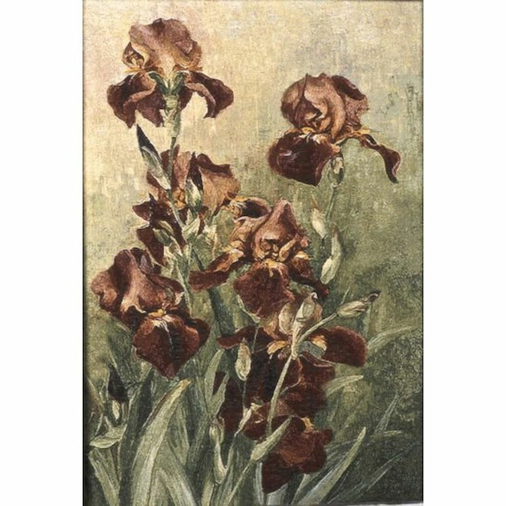 Featured Photo of Blended Fabric Irises Tapestries