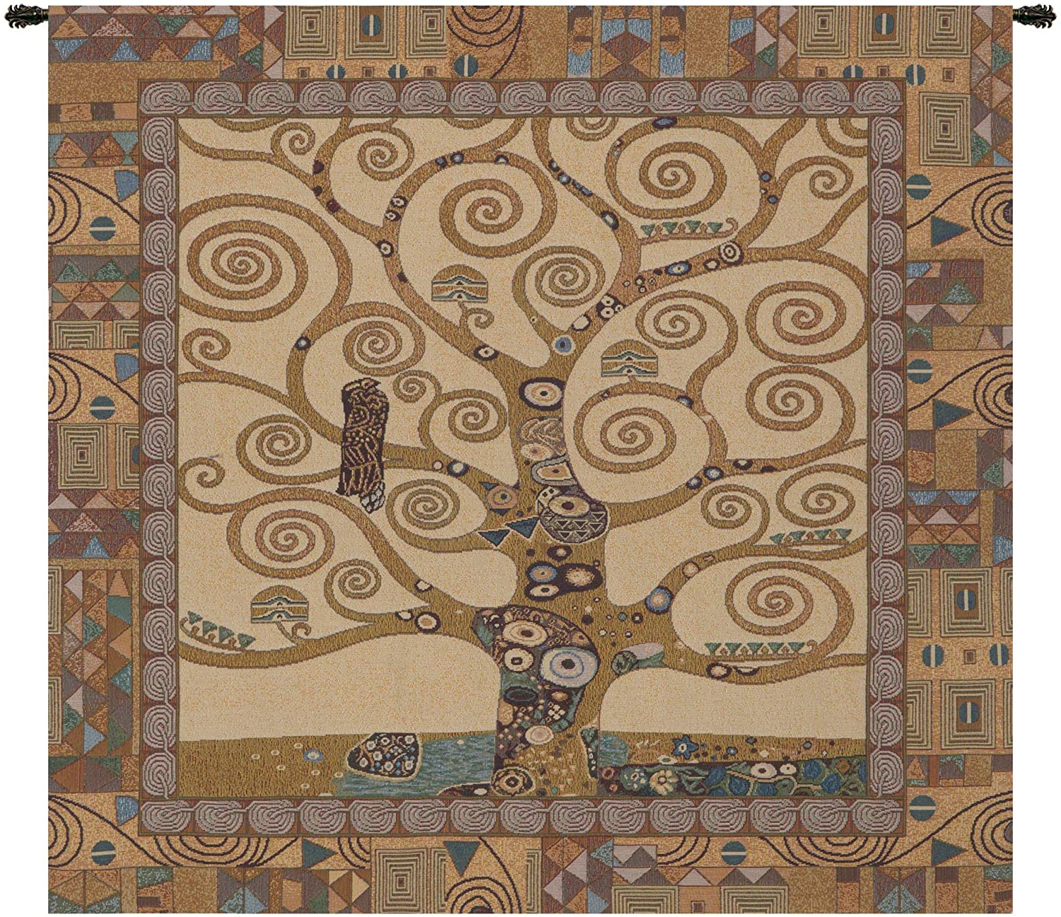 Blended Fabric Klimt Tree Of Life Wall Hangings With Regard To Fashionable Amazon: Charlotte Home Furnishing Inc (View 8 of 20)