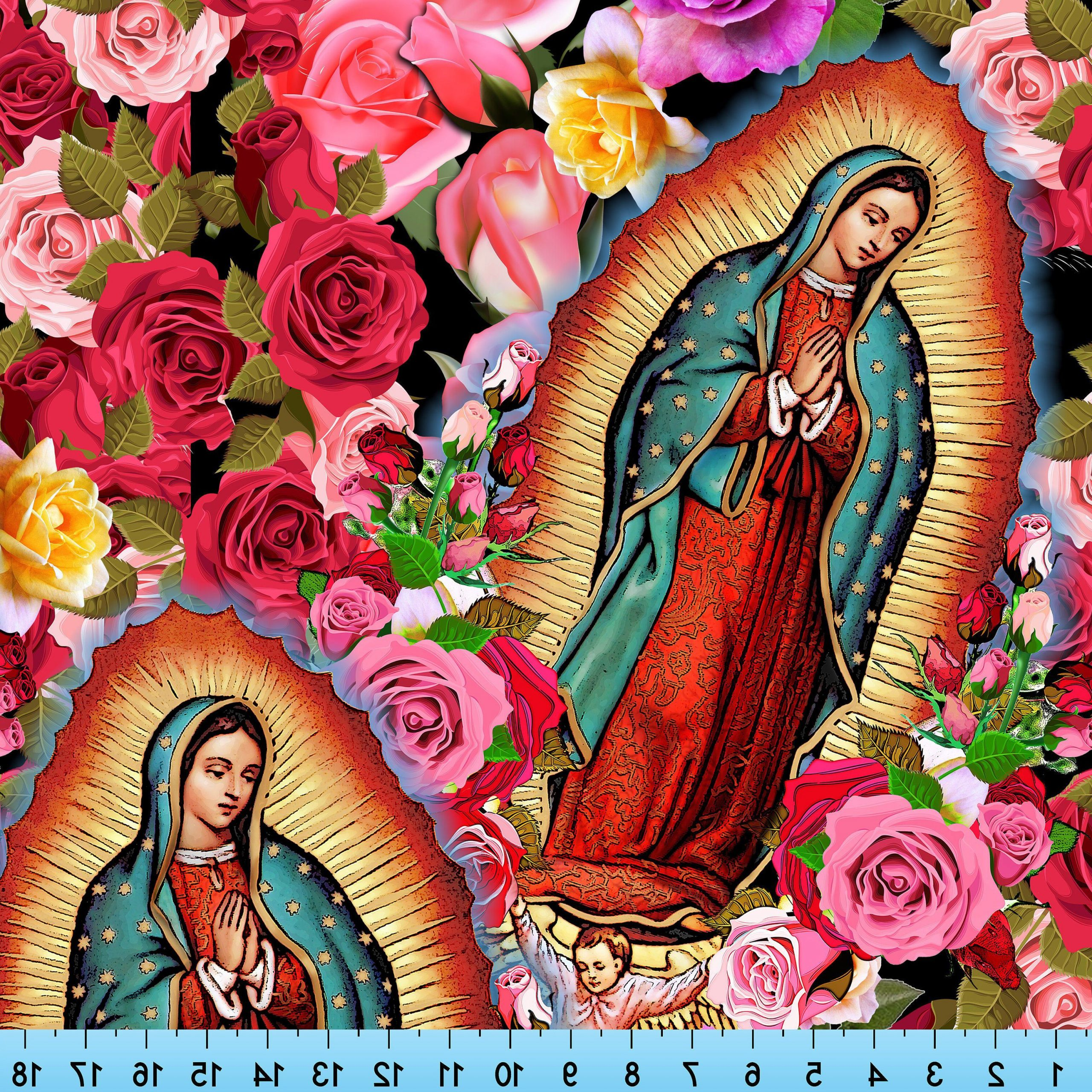 Blended Fabric Our Lady Of Guadalupe Wall Hangings For Most Recent Pin On Our Lady Of Guadalupe, Virgin Mary (View 9 of 20)