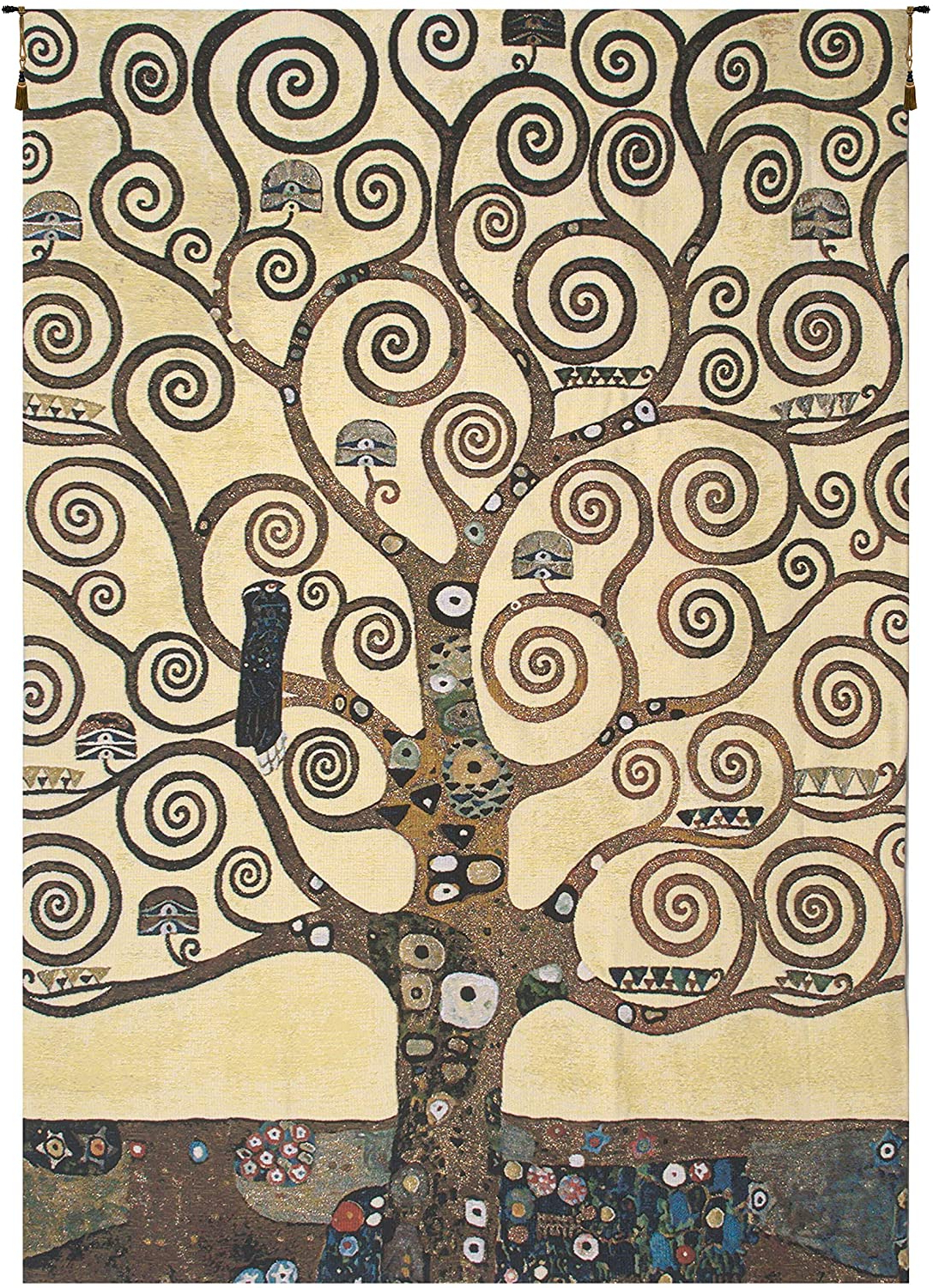 Blended Fabric Pastel Tree Of Life Wall Hangings Within Widely Used Amazon: Charlotte Home Furnishings Inc (View 2 of 20)