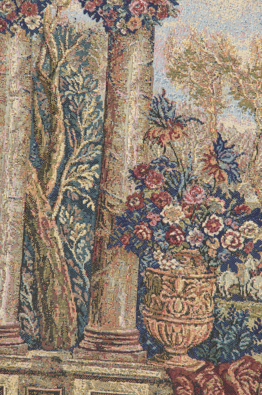 Blended Fabric Peacock European Tapestries Intended For Preferred Peacock Ii Italian Jacquard Woven Tapestry Textile Art Wall Hanging Home Decor (View 4 of 20)