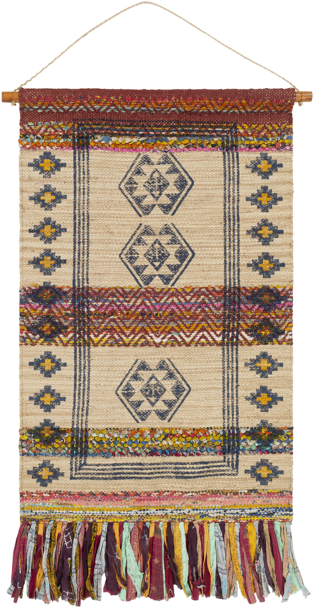 Featured Photo of Blended Fabric Ranier Wall Hangings With Hanging Accessories Included