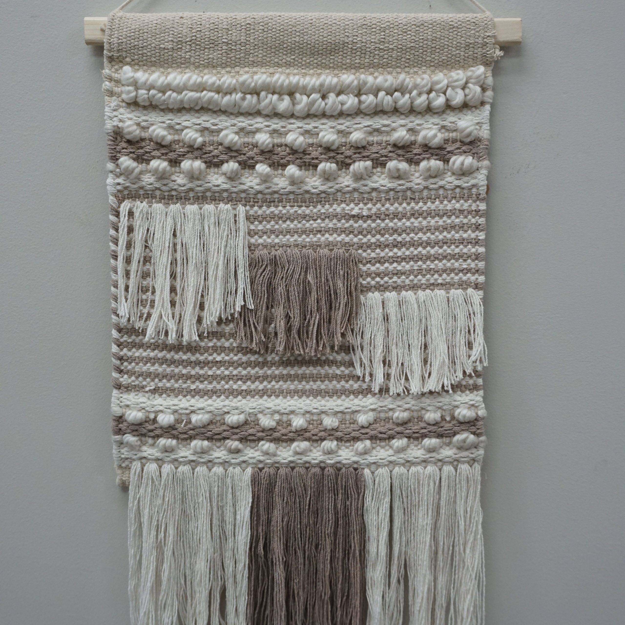 Blended Fabric Saiful Wall Hangings With Rod Within Popular Dakota Fields Wool Wall Hanging With Hanging Accessories And (View 11 of 20)