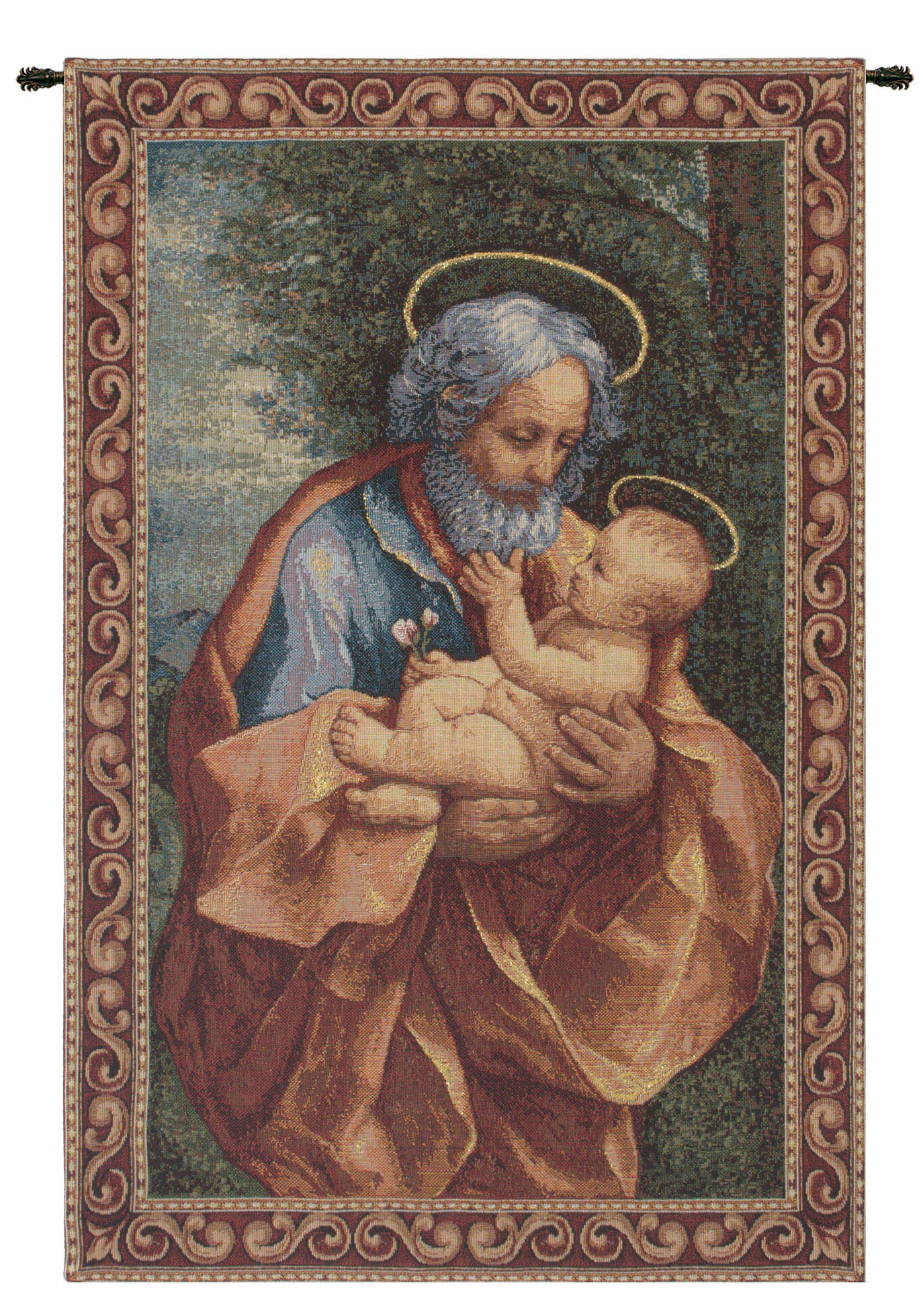 Featured Photo of Blended Fabric Saint Joseph European Tapestries