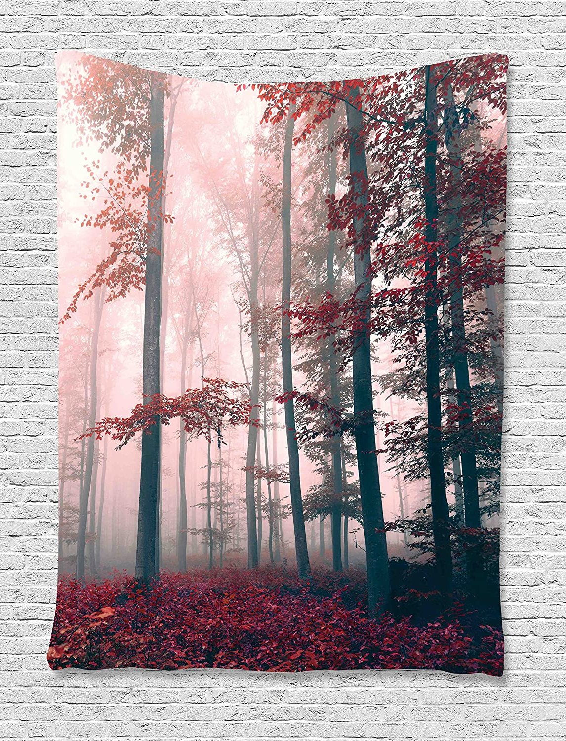 Blended Fabric Spring Blossom Tapestries Within Most Up To Date Ambesonne Art Tapestry Wall Decorcherry Blossom Sakura (View 10 of 20)