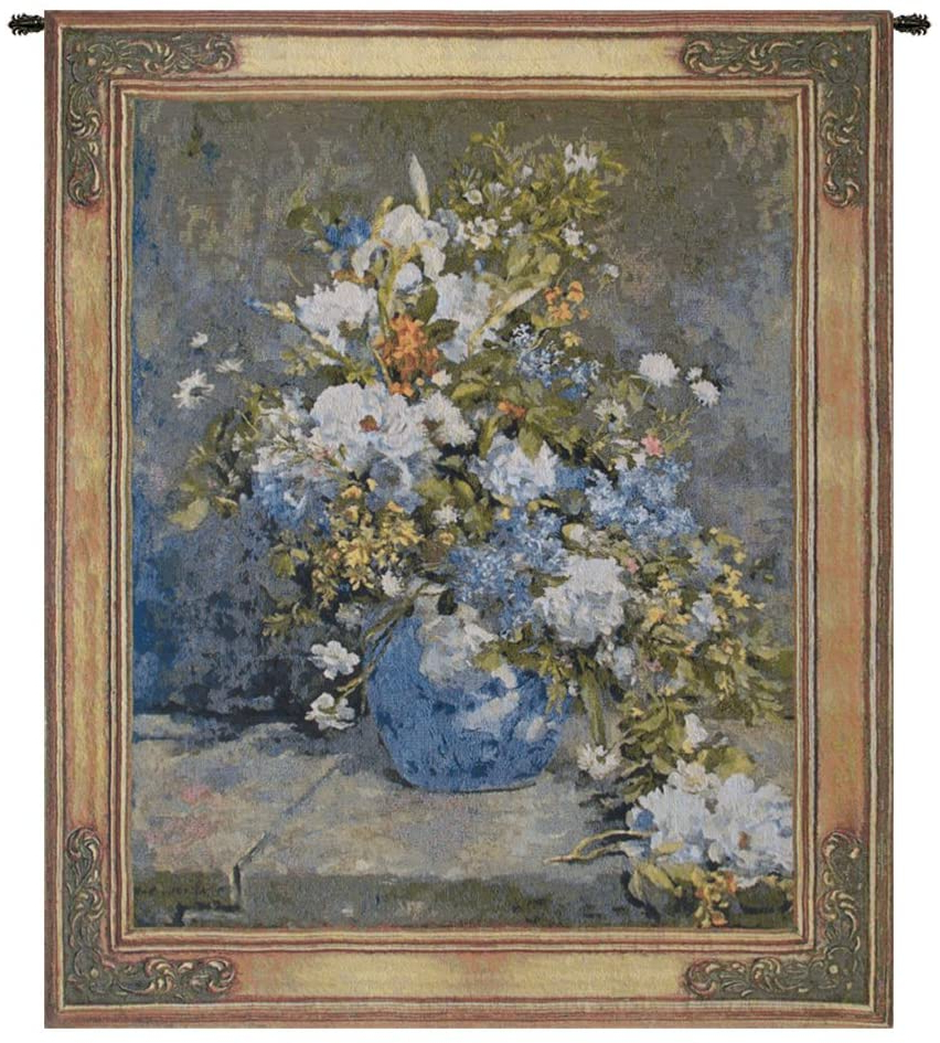 Blended Fabric Spring Bouquet By Renoir Tapestries Intended For Trendy Amazon: Charlotte Home Furnishings Inc (View 2 of 20)