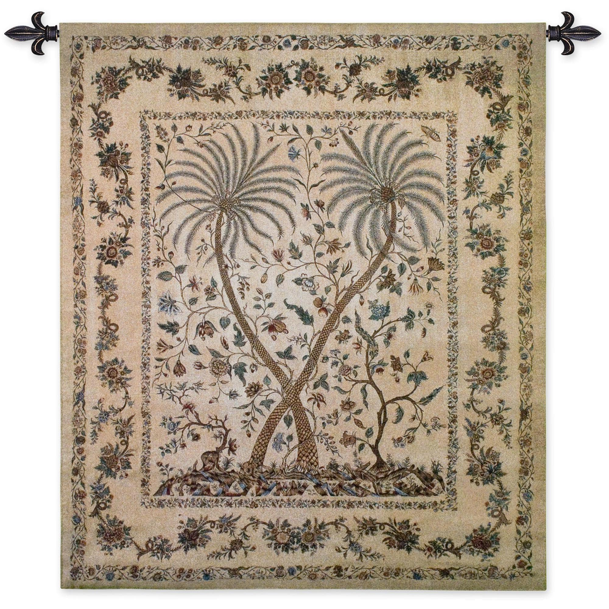 Blended Fabric The Broken Chain Tapestries And Wall Hangings With Preferred Finearttapestries 3145 Wh Palampore Wall Tapestry (View 4 of 20)