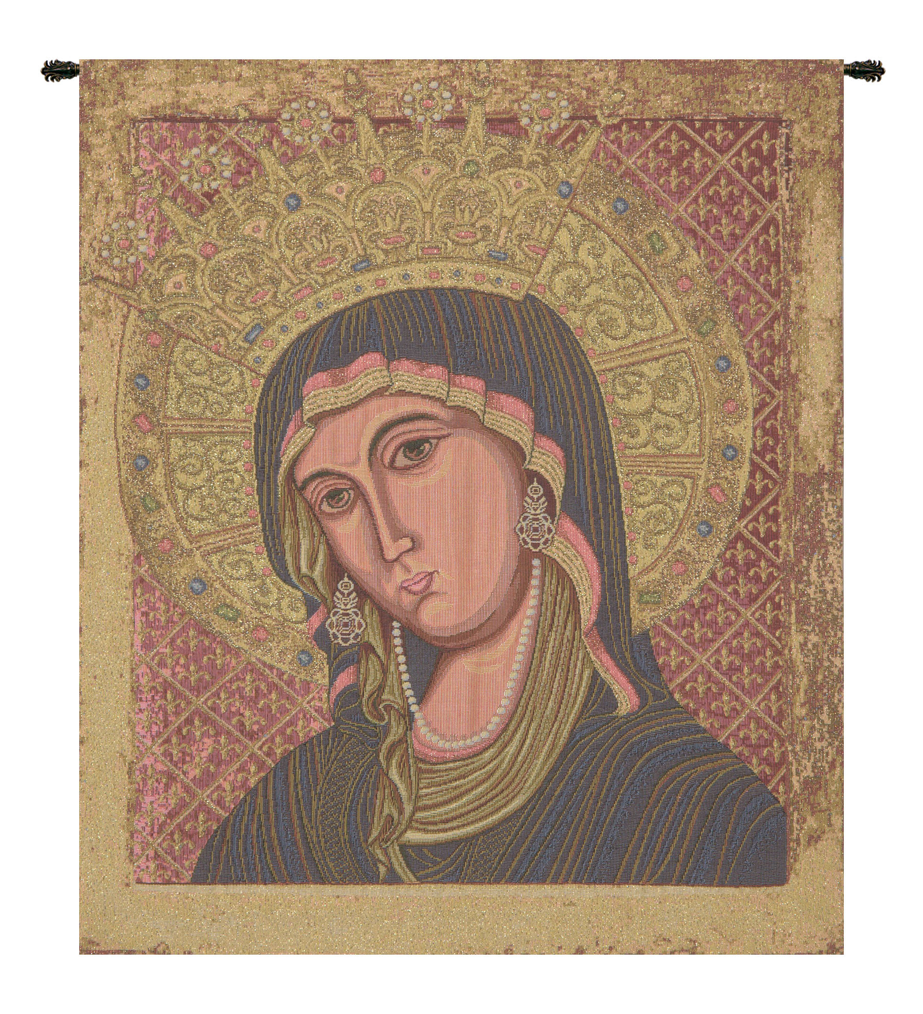 Blended Fabric Trust In The Lord Tapestries And Wall Hangings Intended For Well Known Madonna Di Montevergine Wall Hanging (View 9 of 20)