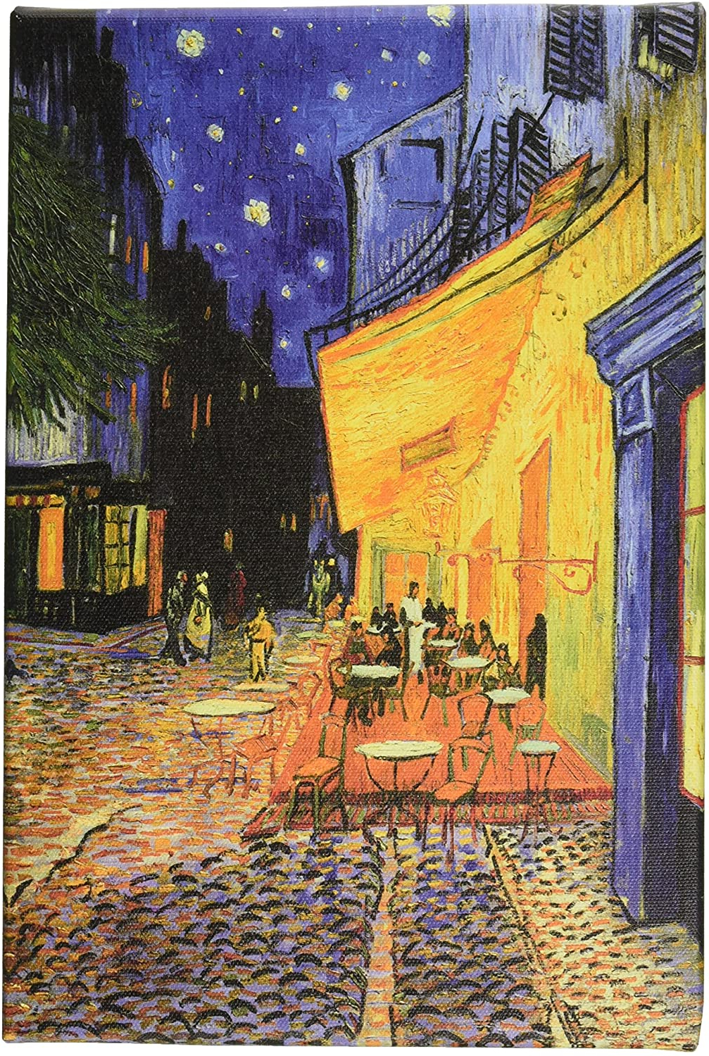 Blended Fabric Van Gogh Terrace Wall Hangings With 2020 Icanvasart The Cafe Terrace On The Place Du Forum, Arles, At Night Canvas Art Printvincent Van Gogh, 1218 Inch (View 6 of 20)