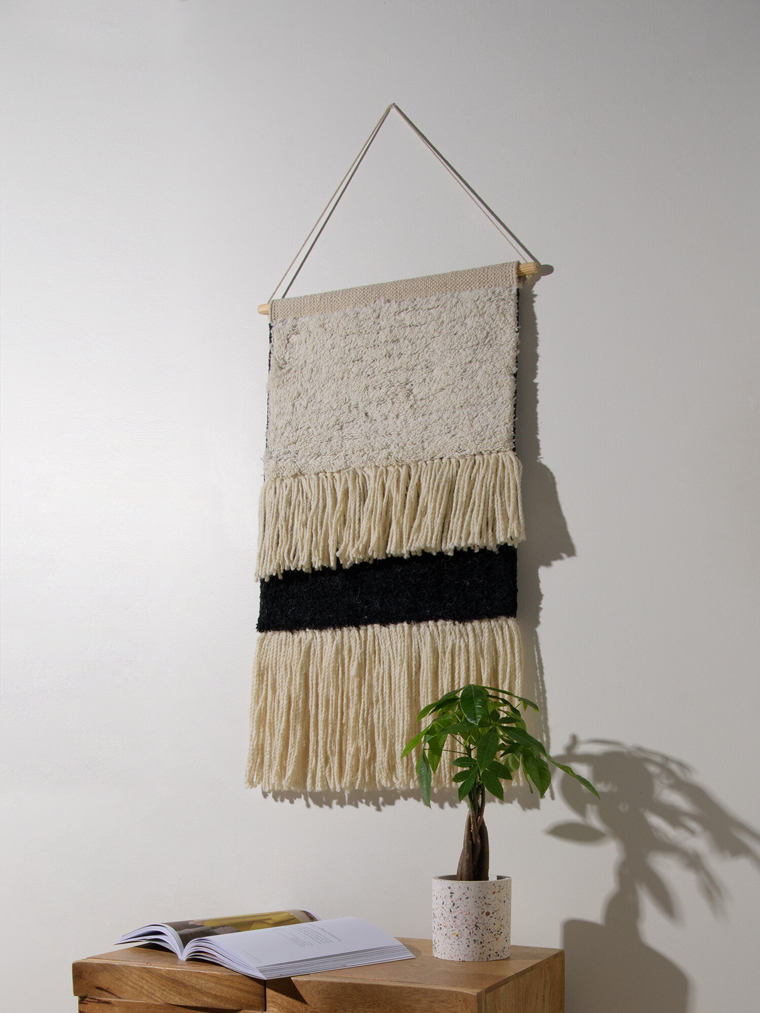 Blended Fabric Wall Hanging With Hanging Accessories Included In Preferred Blended Fabric Wall Hangings (View 12 of 20)