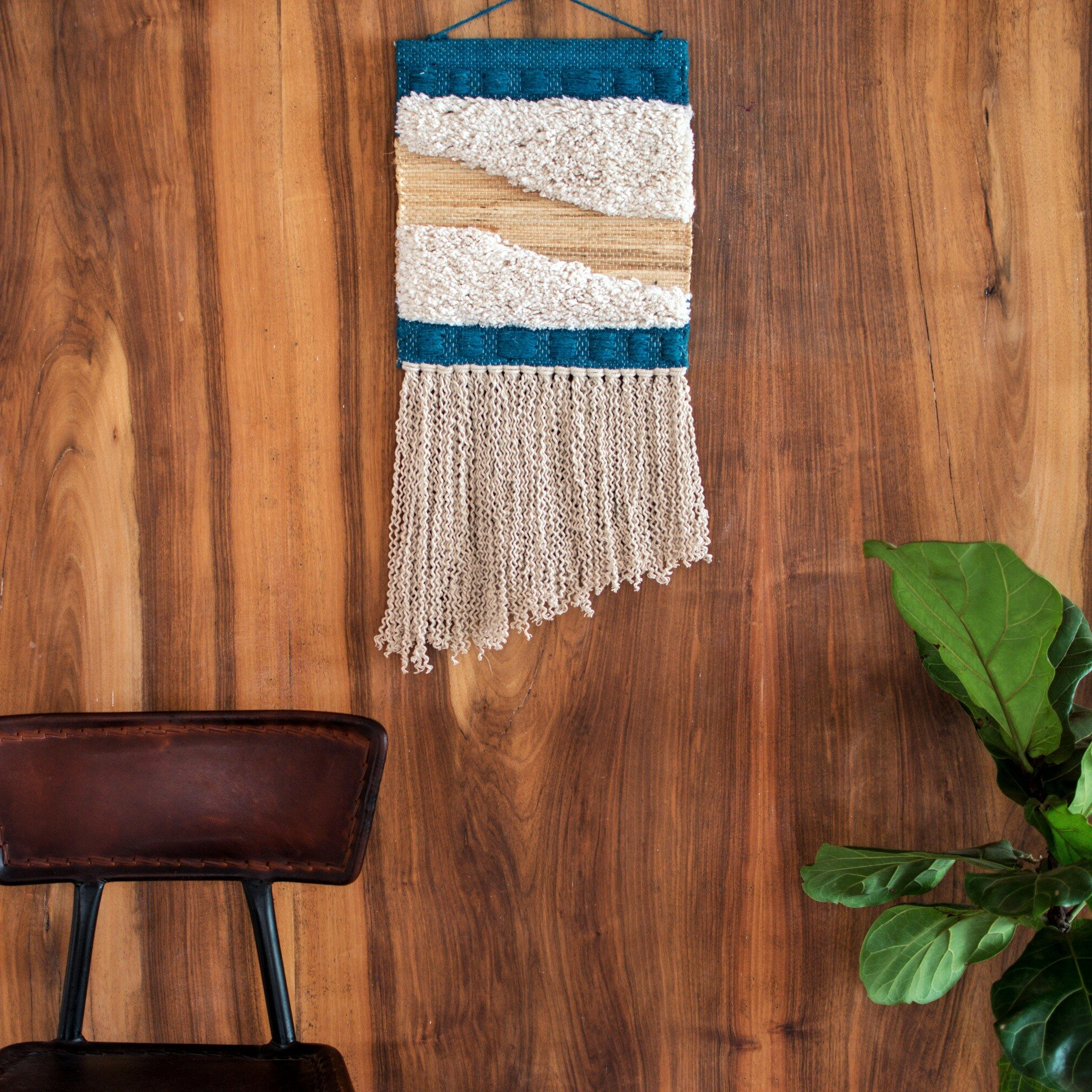Blended Fabric Wall Hanging With Hanging Accessories Included Within Newest Blended Fabric Wall Hangings (View 16 of 20)