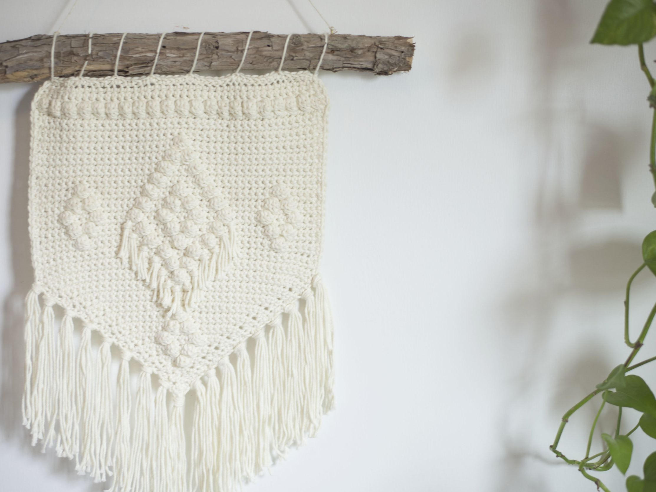 Blended Fabric Wall Hangings With Rod Included Within Newest Crochet Wall Hanging Patterns To Try Today (View 20 of 20)