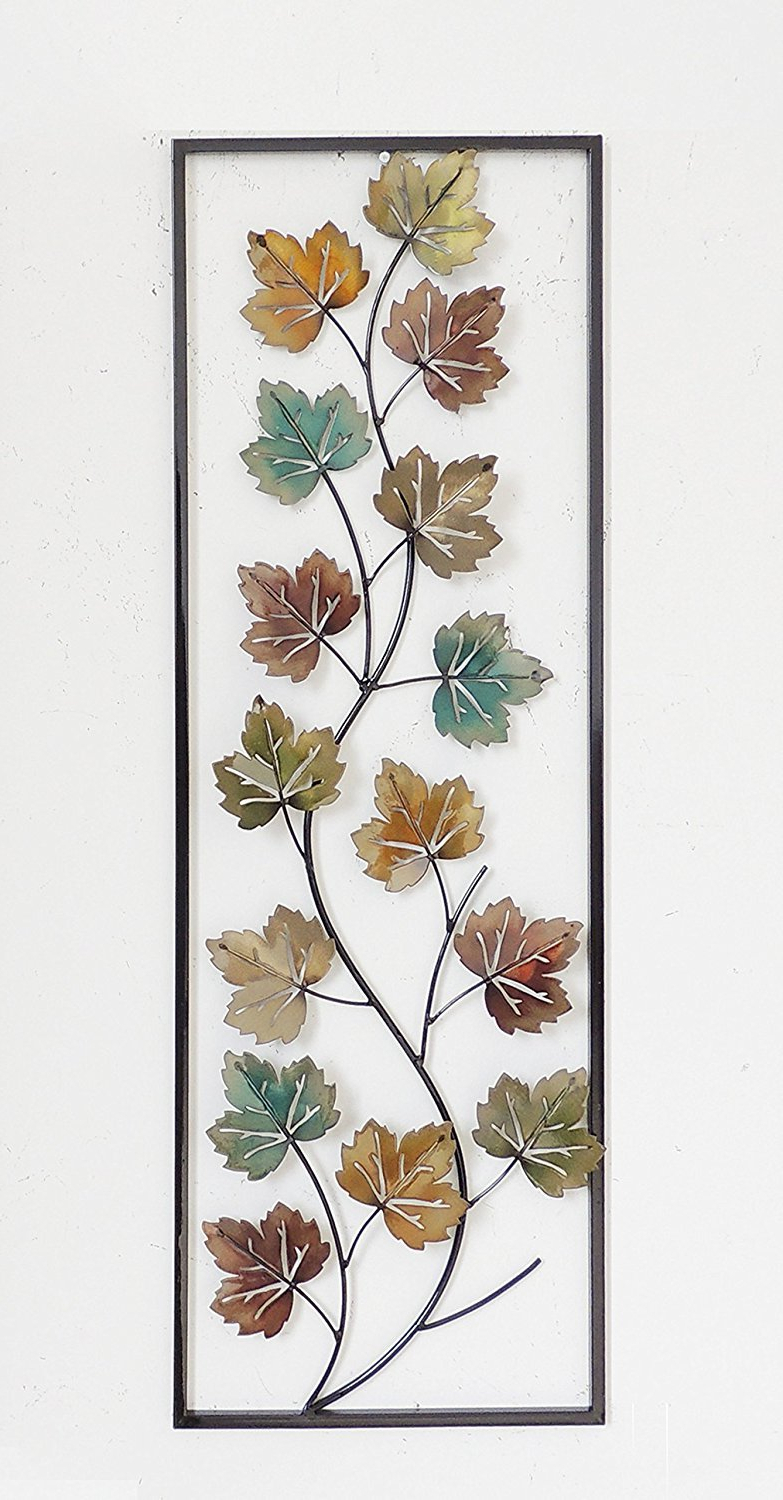 Buy All American Collection Flower And Leaves Aluminum/metal In Well Known Aluminum Maple Leaf Wall Decor (View 16 of 20)
