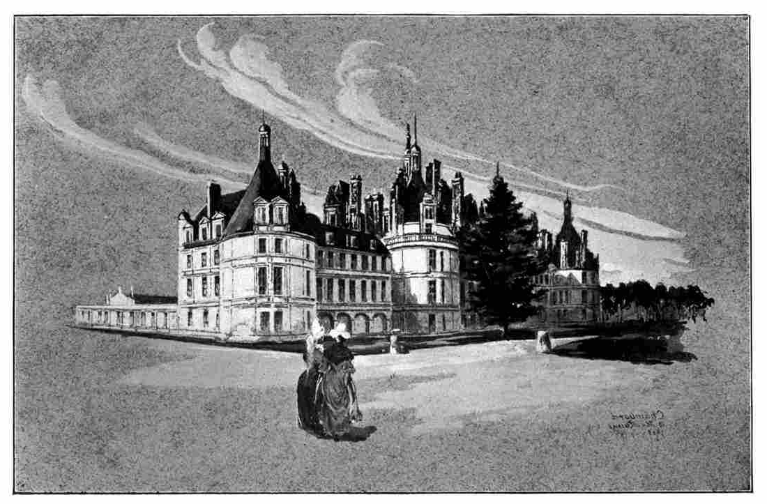 Castles And Chateaux Of Old Touraine And The Loire Country Inside Latest Blended Fabric Verdure Au Chateau Ii European Tapestries (View 18 of 20)