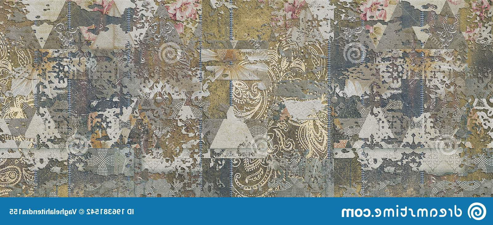 Ceramic Rustic Wall Décor Inside Best And Newest Multicolor Rustic Digital Wall Tile Decor For Interior Home (View 13 of 20)