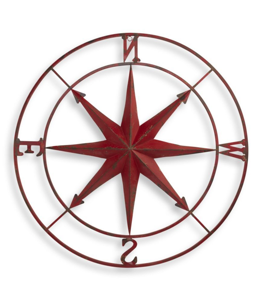 Compass Wall Decor, Compass Rose (View 11 of 20)