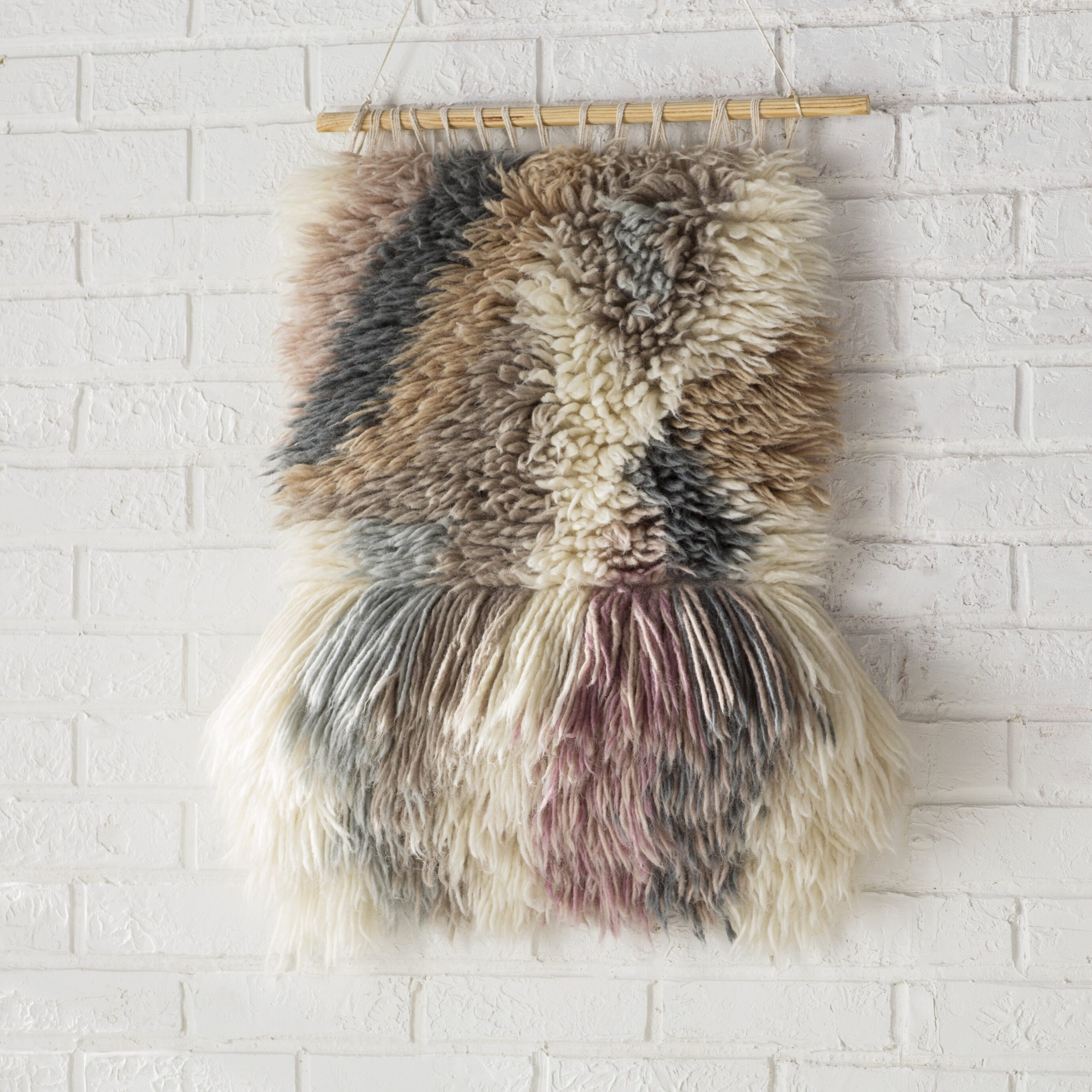 Contemporary Hand Woven Wall Hanging Within Current Hand Woven Wall Hangings (View 7 of 20)