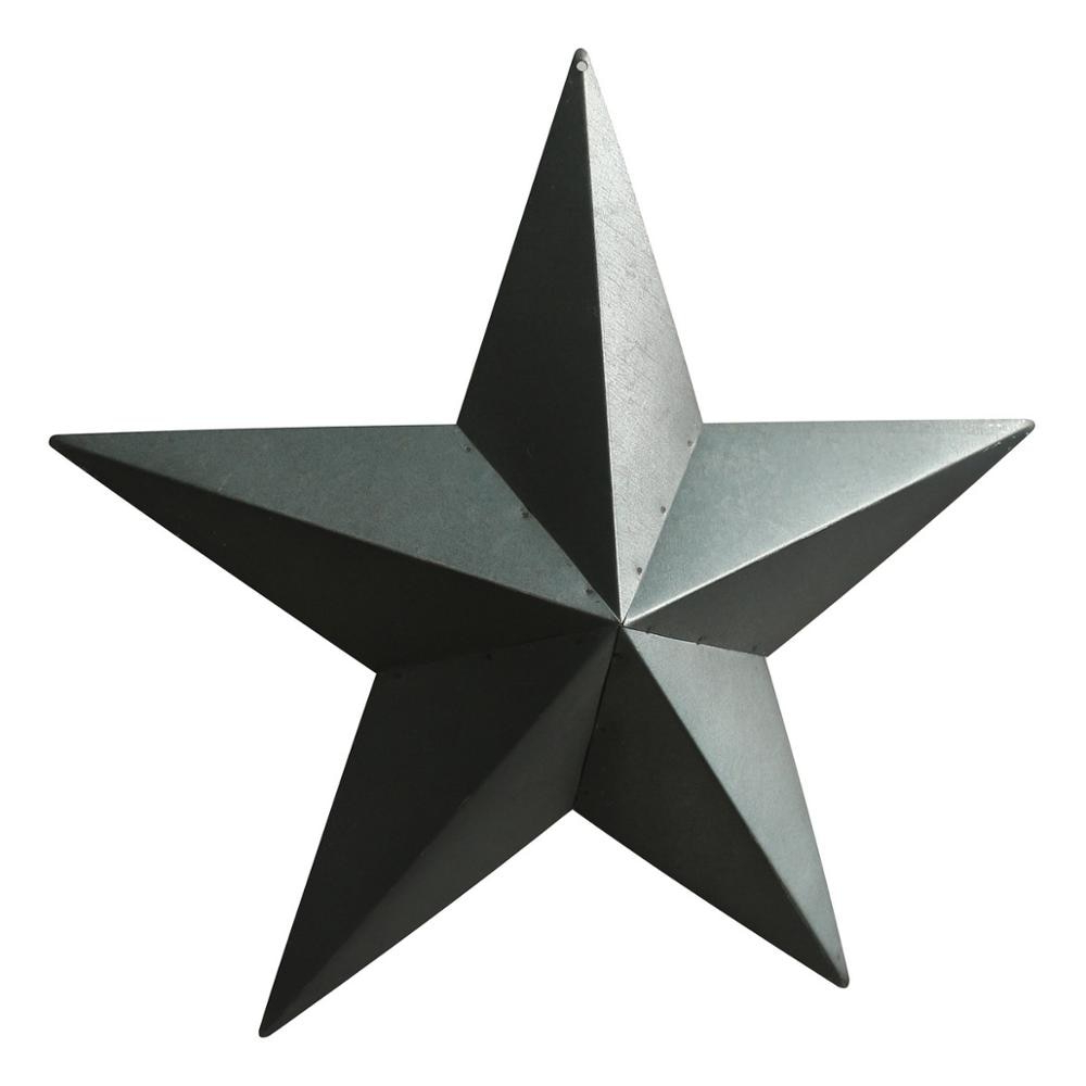 Country Rustic Antique Vintage Gifts Grungy Desert Sage Metal Barn Star  Wall/door Decor, 24 Inch, Set Of 2 With Favorite Barn Star Wall Décor (set Of 2) (View 8 of 20)