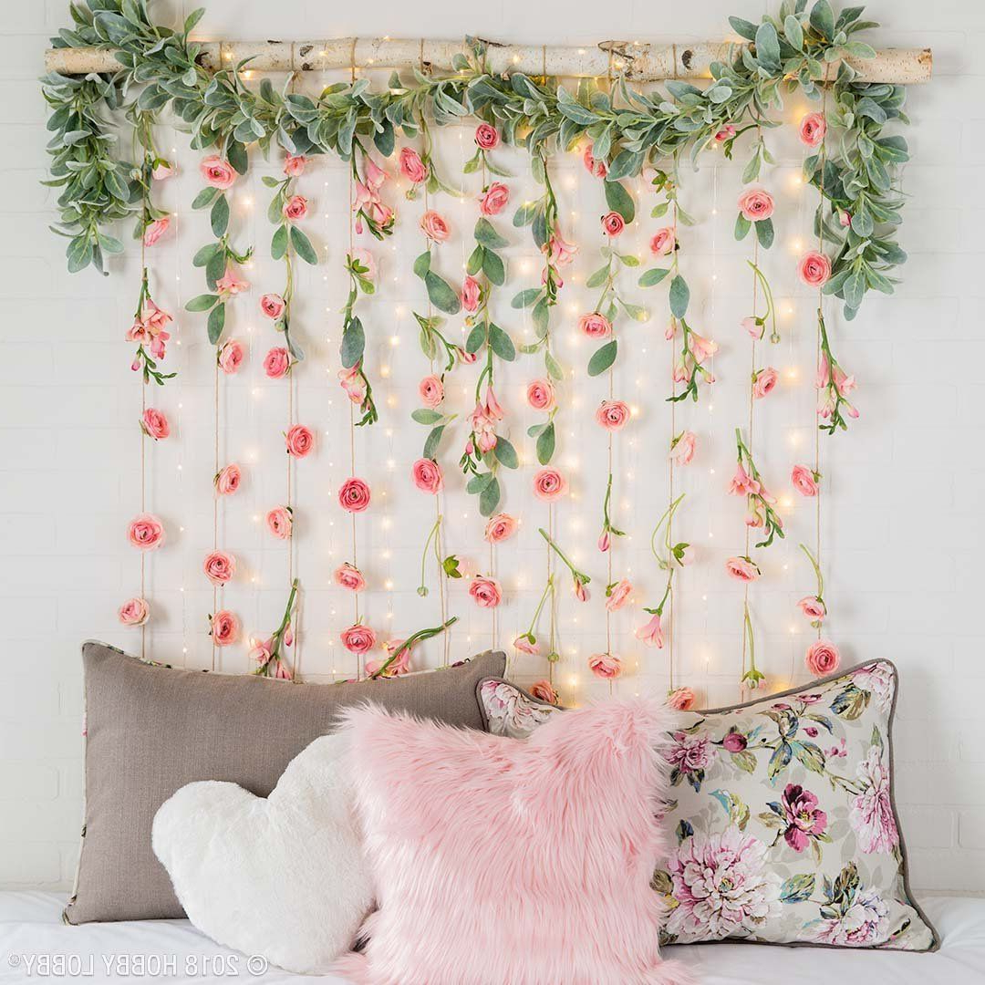 Featured Photo of Whimsical Flower Wall Décor