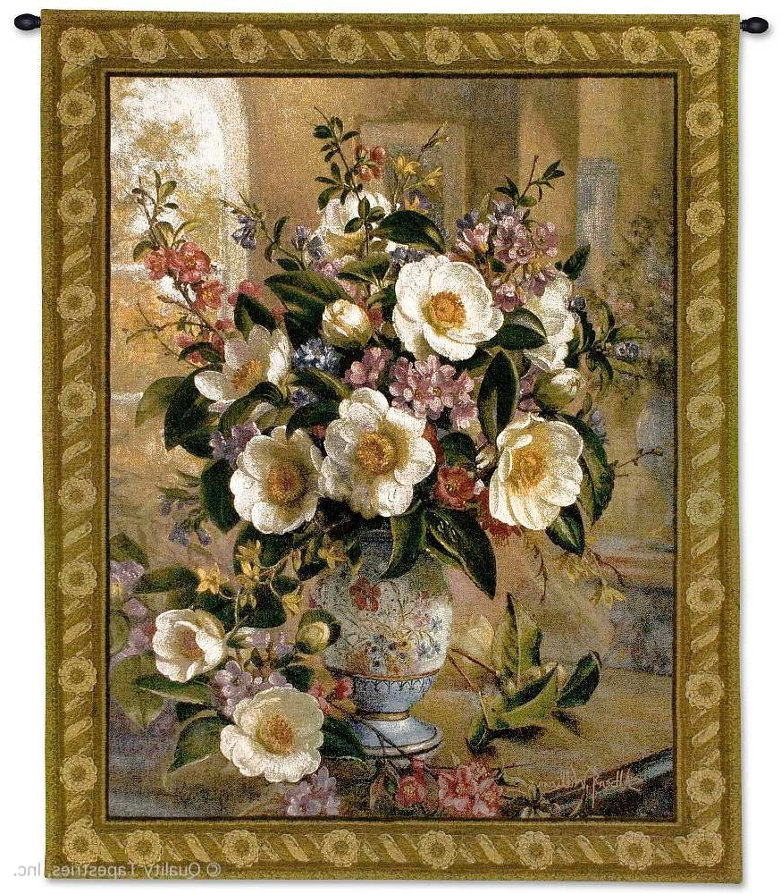 Current Blended Fabric Gallanteries European Wall Hangings With Regard To 50+ Tapestry Ideas (View 11 of 20)