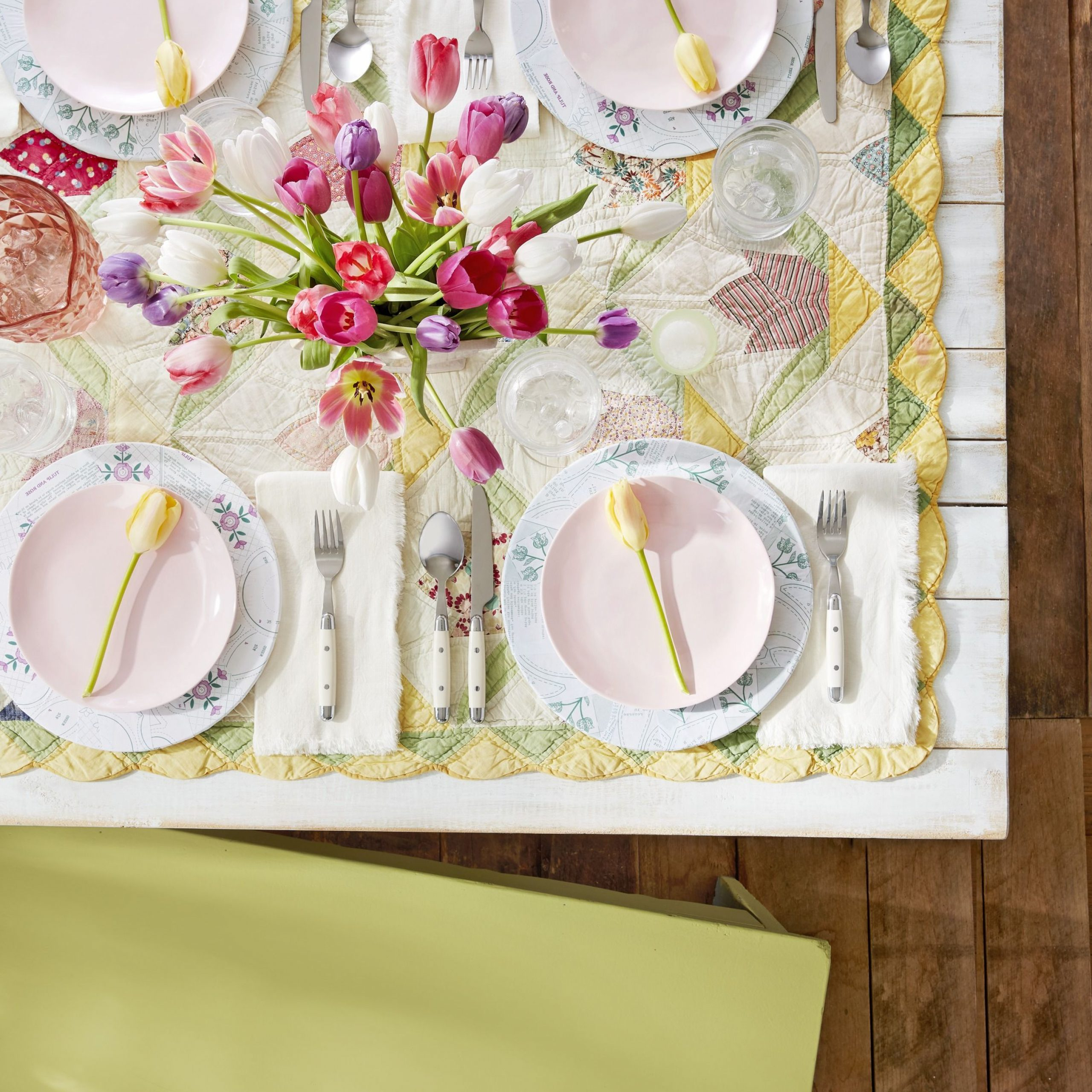 Featured Photo of Blended Fabric Spring Party Wall Hangings