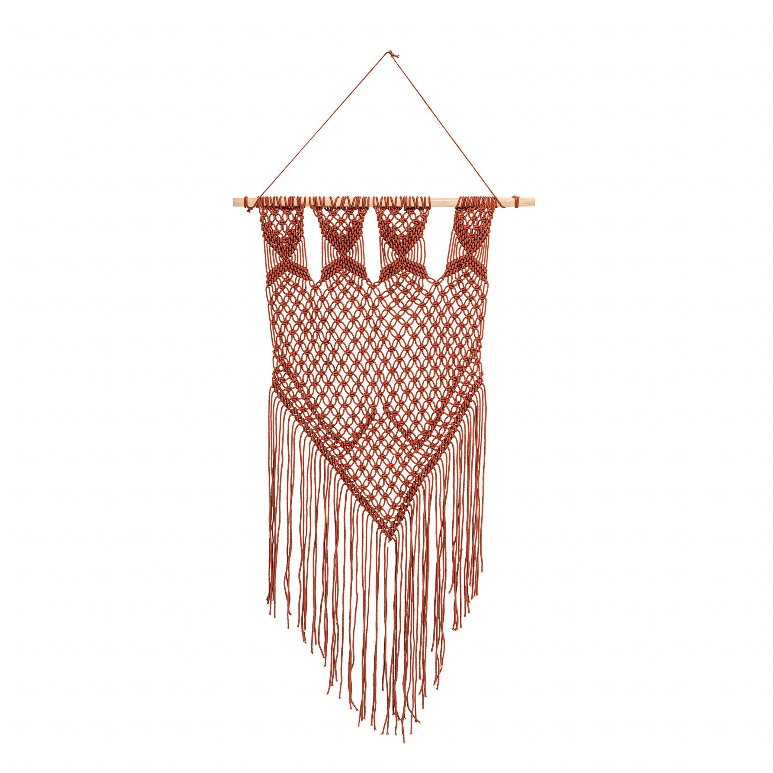 Current Cotton Wall Hanging With Hanging Accessories Included Regarding Blended Fabric Hohl Wall Hangings With Rod (View 10 of 20)