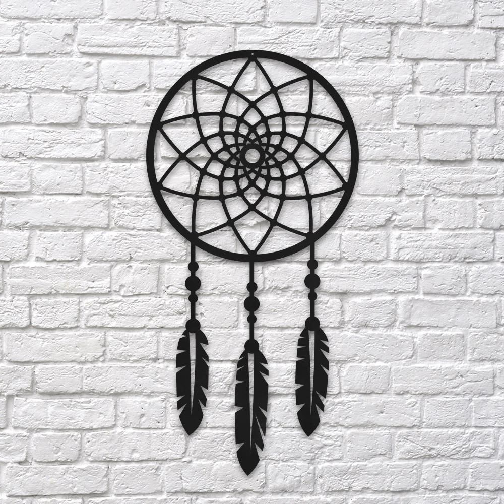 Current Dream Metal Wall Décor With Regard To Dream Catcher – Wall Art – Wall Decor – Metal Wall Art In (View 2 of 20)