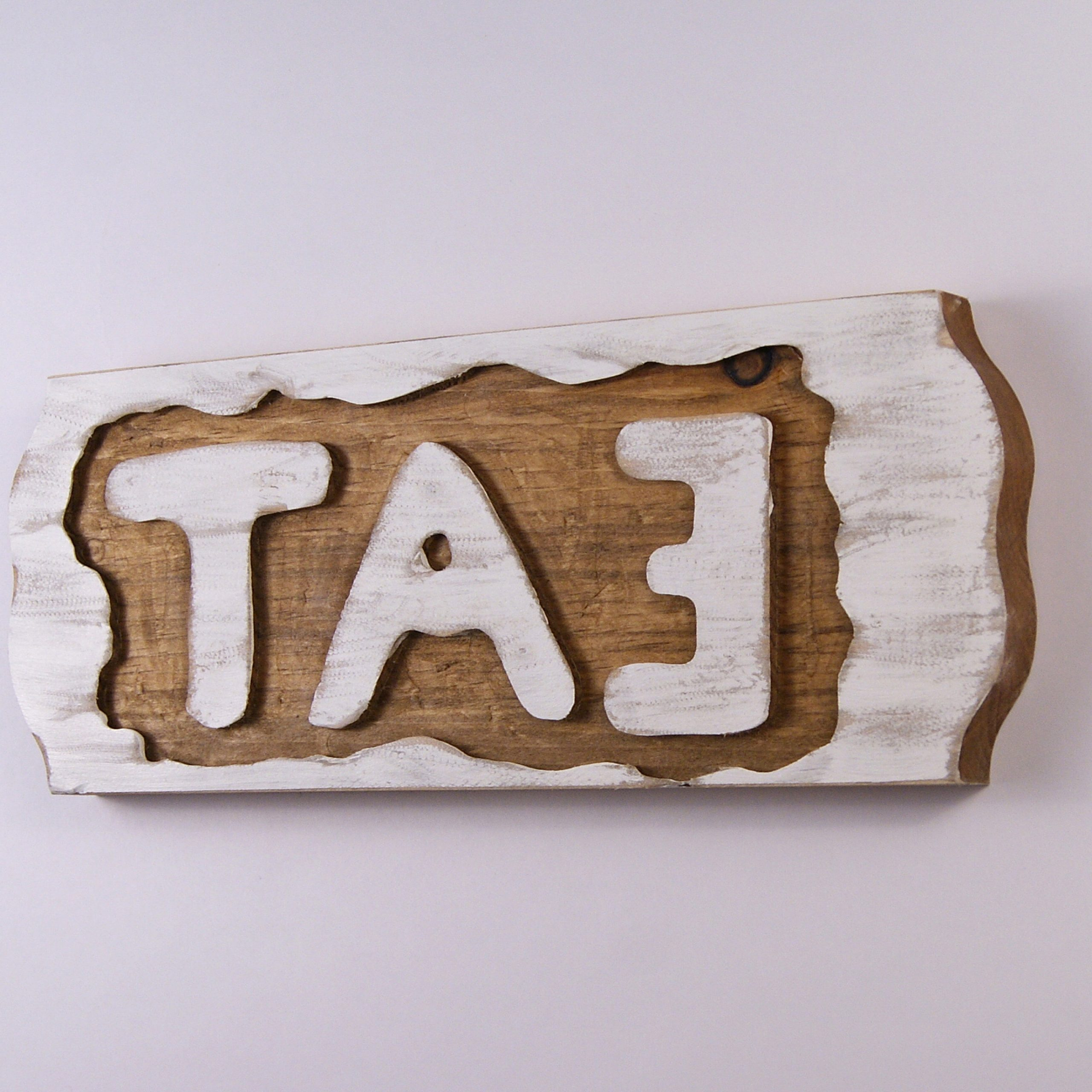 Current Eat Rustic Farmhouse Wood Wall Décor Throughout Eat Sign, Rustic White Wall Hanging, Reclaimed Wood Wall (View 18 of 20)