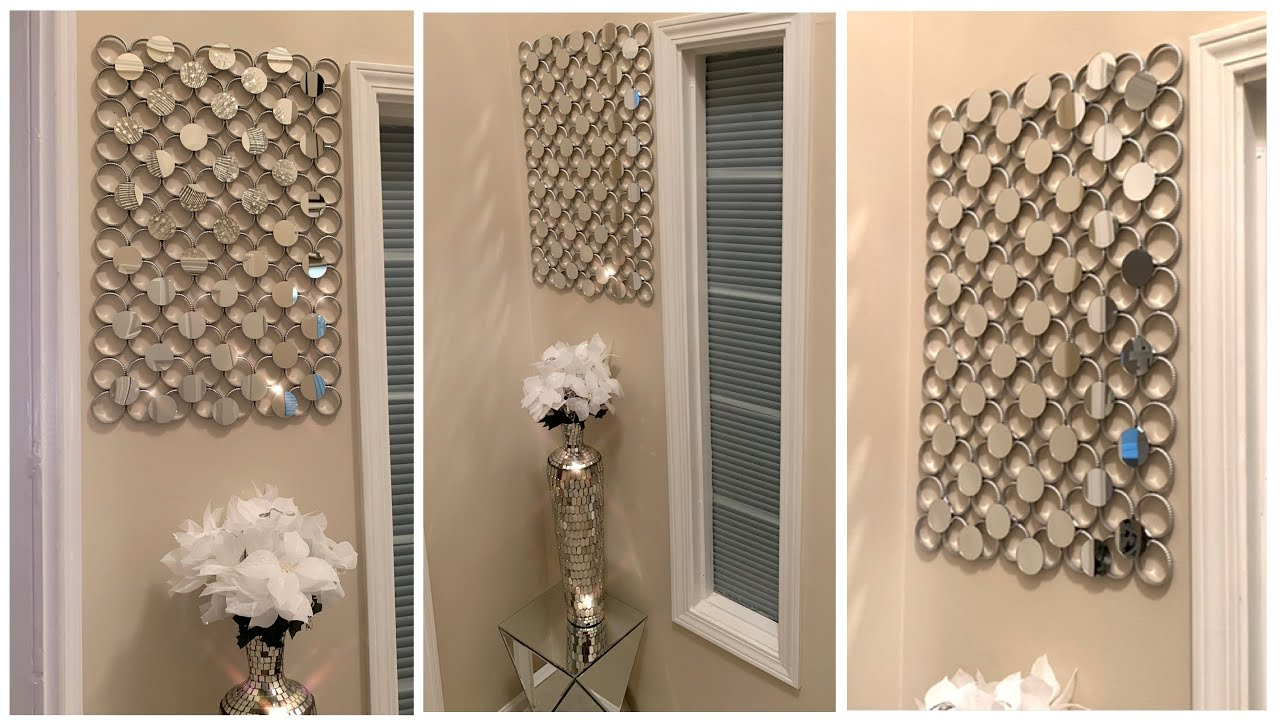 Current Elegant Wall Decor Using Dollar Tree Shower Curtain Rings ~ D.i.y (View 20 of 20)