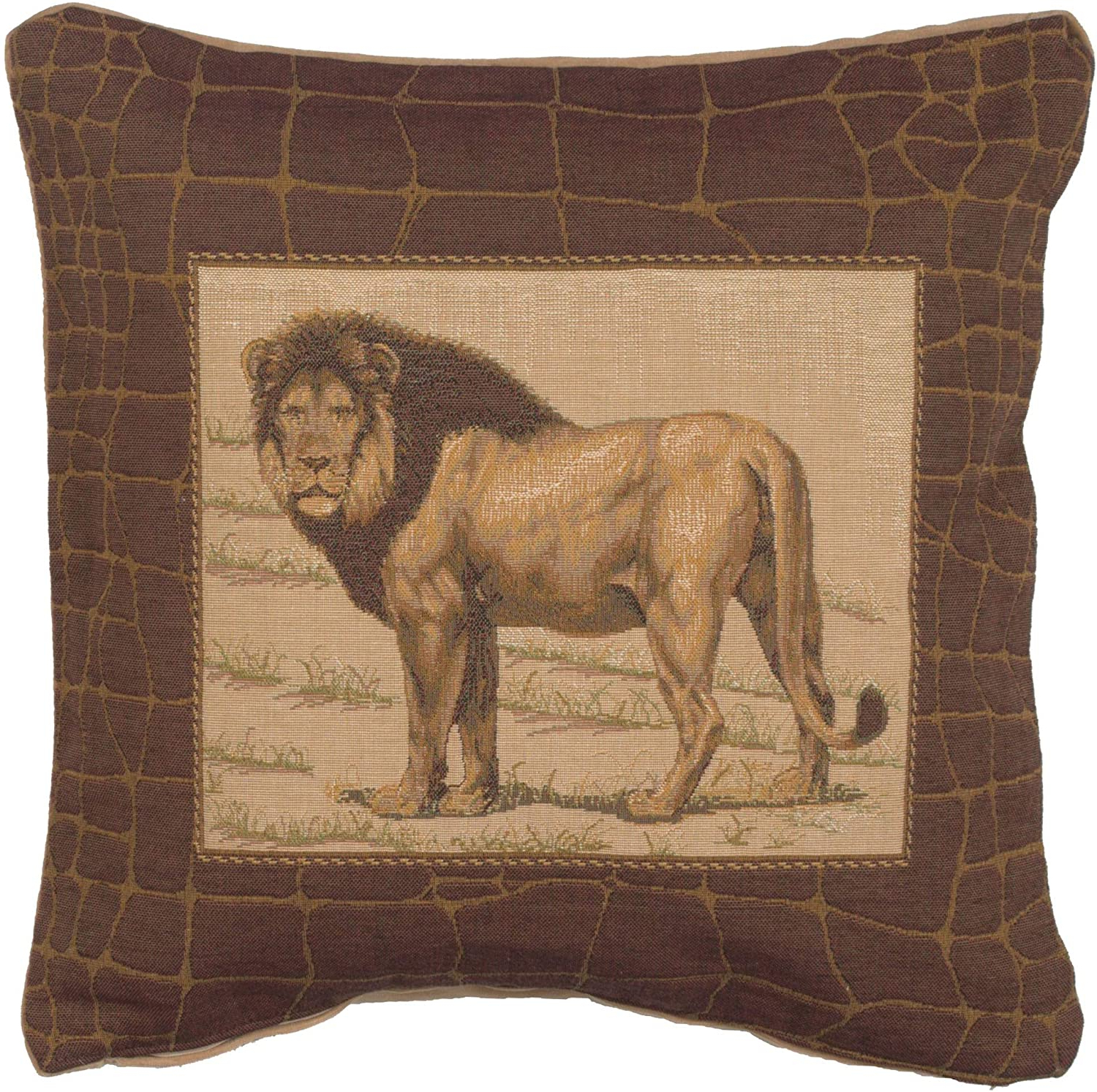 Current Lion I European Tapestries With Regard To Amazon: Charlotte Home Furnishings Inc (View 15 of 20)
