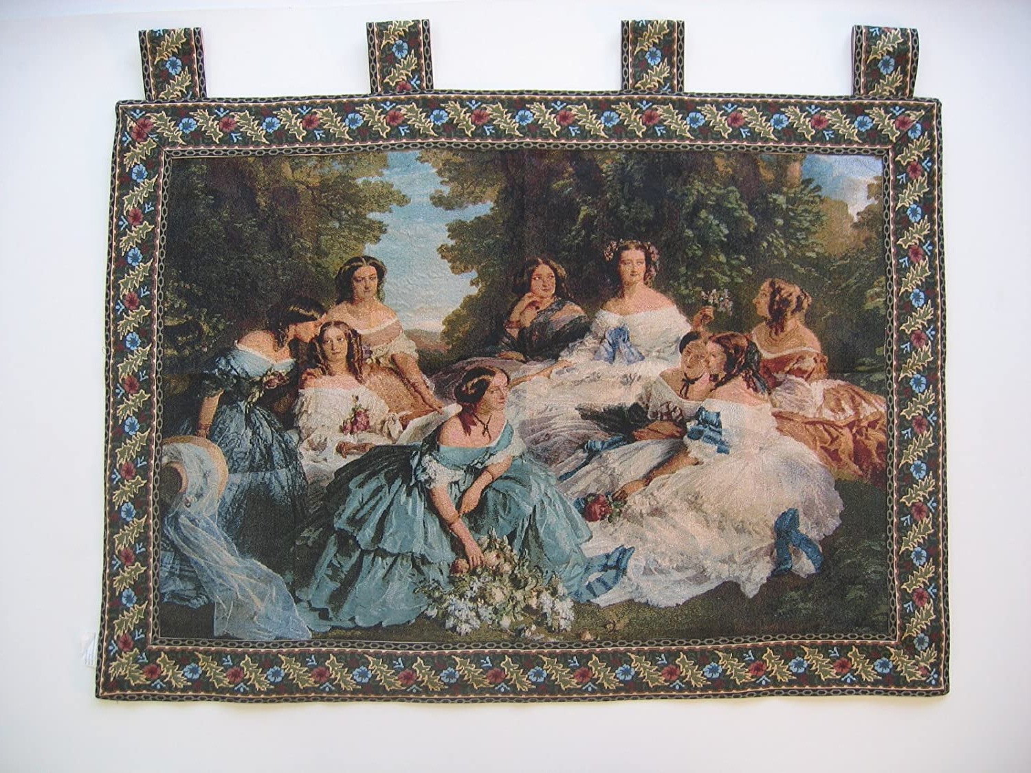Dada Bedding Wh 11630 Classic French Rococo Woven Tapestry Wall Hanging, 36 50 Inch In Trendy Blended Fabric Classic French Rococo Woven Tapestries (View 2 of 20)