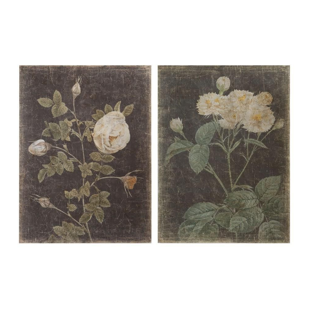 Decorative Paper W/ Vintage Rose, 2 Styles (View 19 of 20)