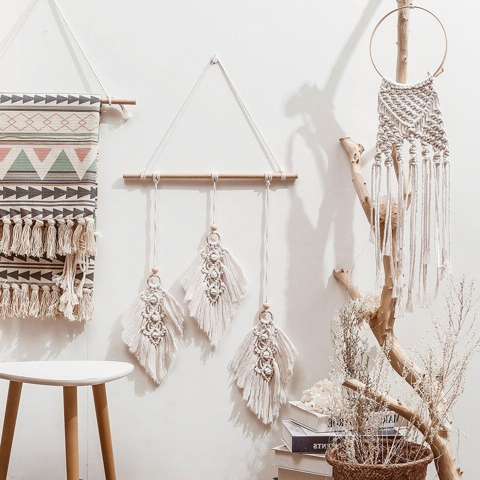 Decorative Pertaining To Favorite Blended Fabric The Broken Chain Tapestries And Wall Hangings (View 8 of 20)