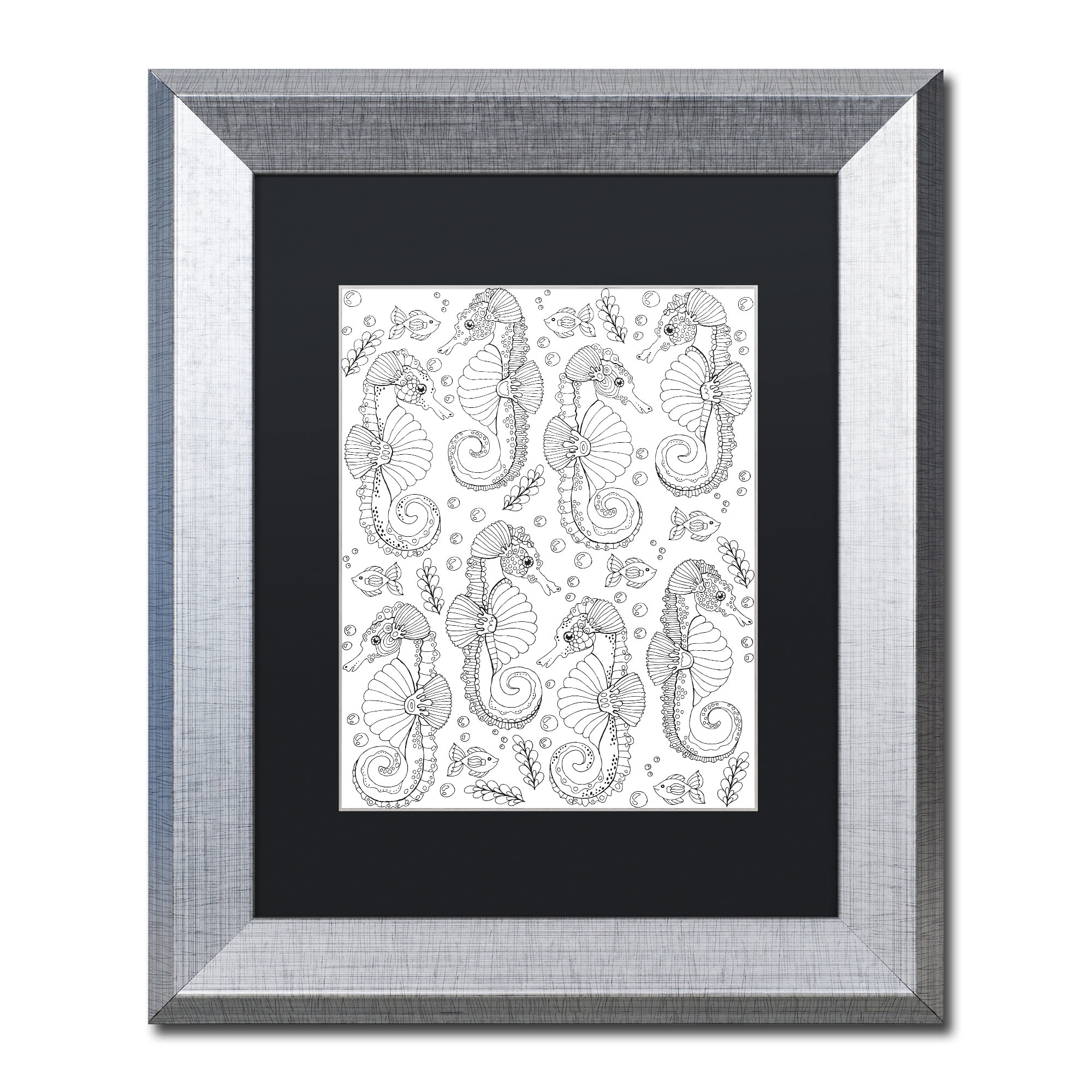 Edyth Wood And Metal Wall Décor With Regard To 2020 'animals' Framed Graphic Art On Canvas (View 13 of 20)