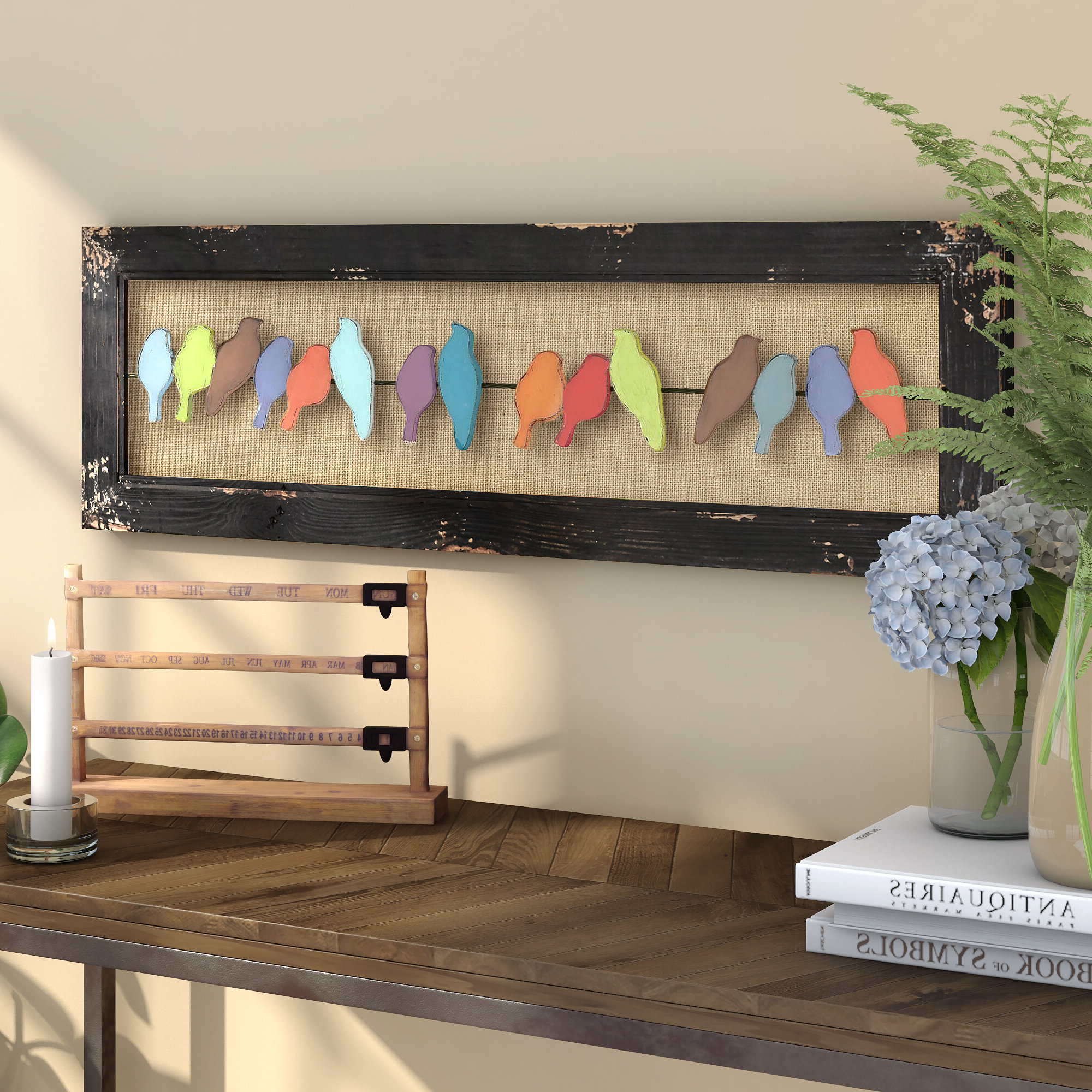 Featured Photo of Edyth Wood And Metal Wall Décor