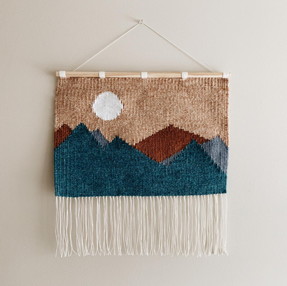 Etsy Regarding 2019 Blended Fabric Hello Beauty Full Wall Hangings (View 7 of 20)