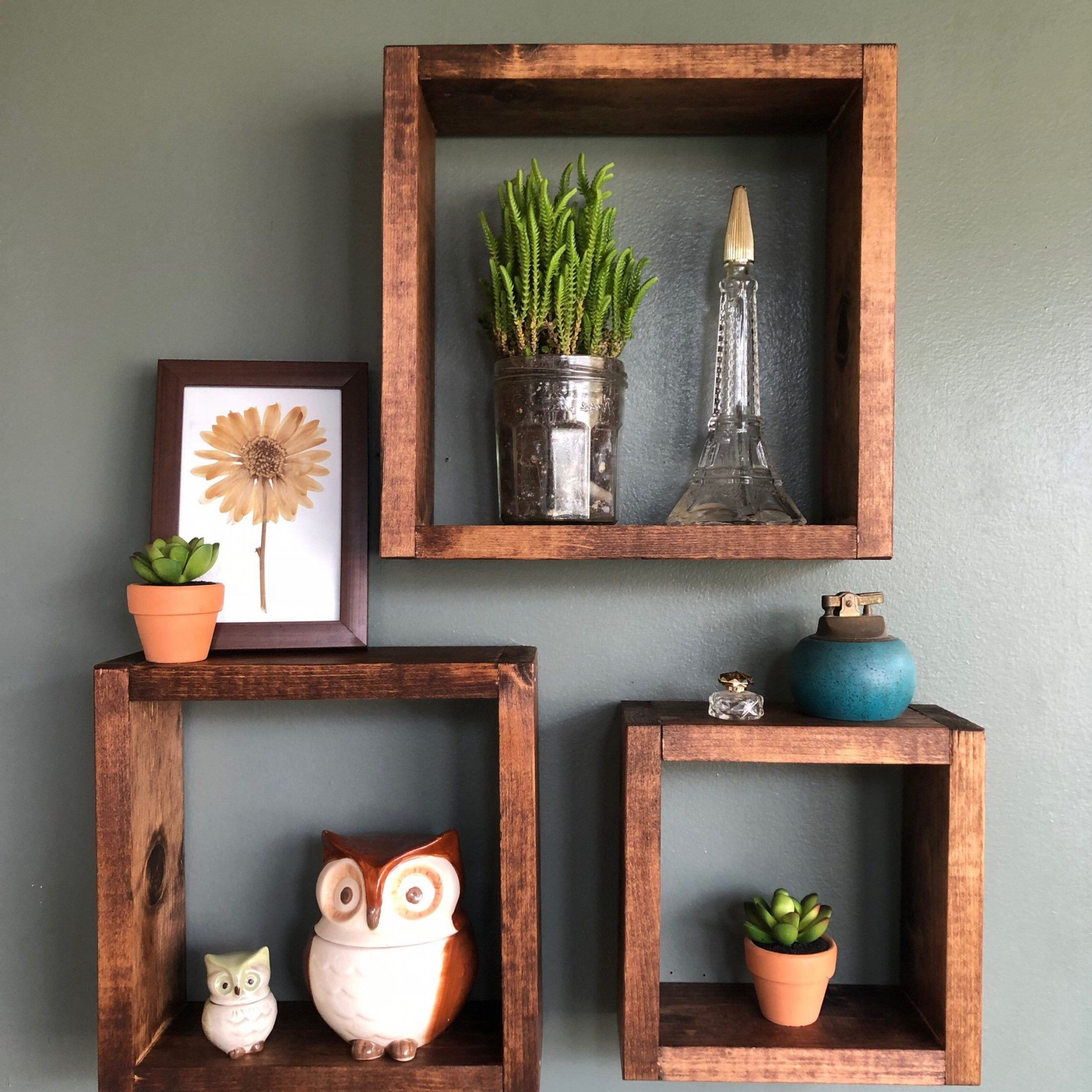 Etsy Within Square Wood Wall Décor (View 12 of 20)