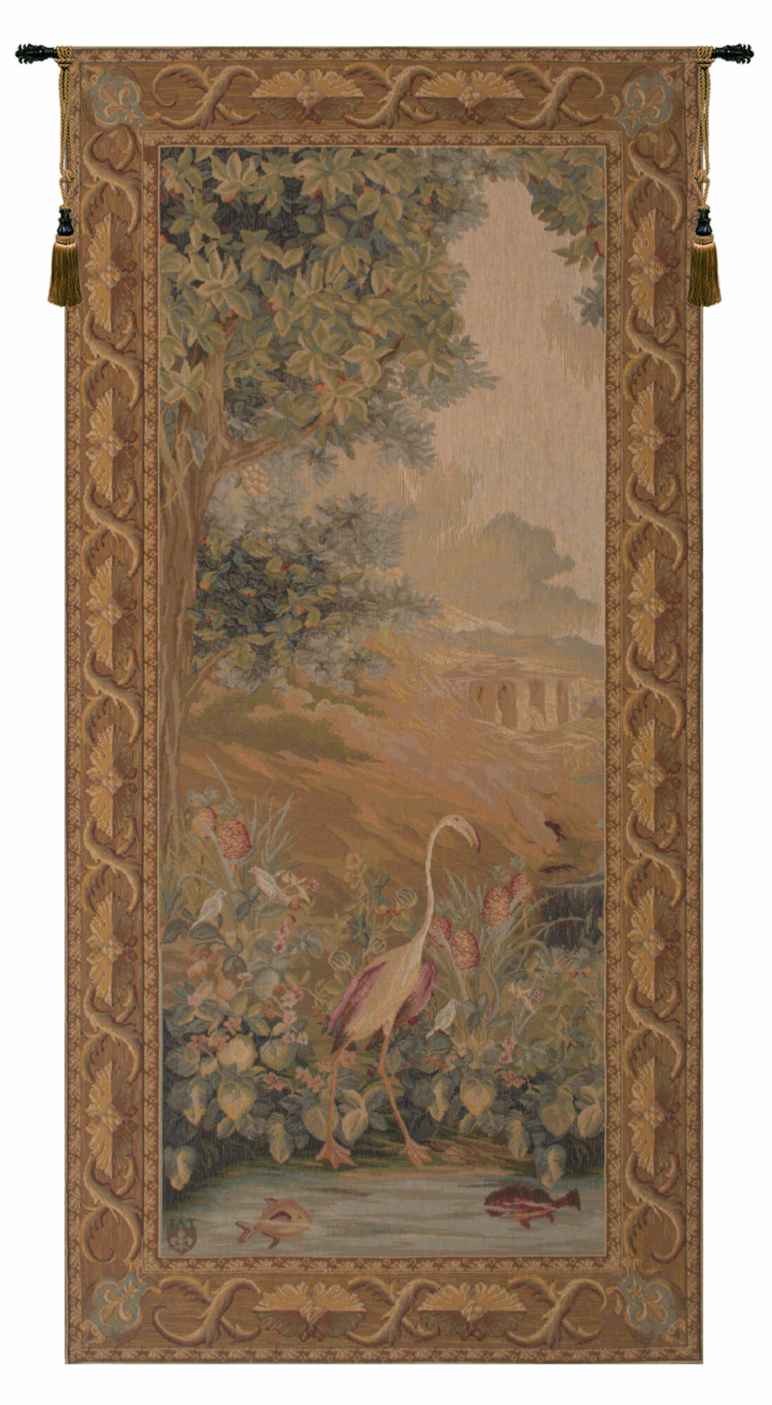 Featured Photo of European Le Point Deau Flamant Rose Tapestries