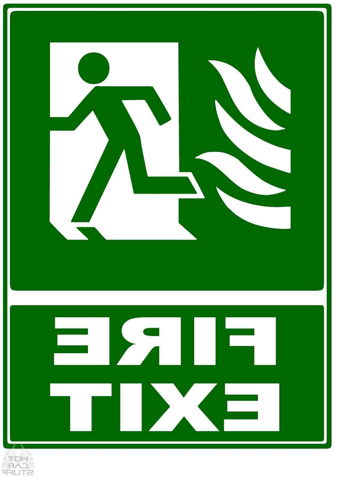 Exit Sign Textual Art For Trendy Free Fire Exit Sign, Download Free Clip Art, Free Clip Art (View 9 of 20)