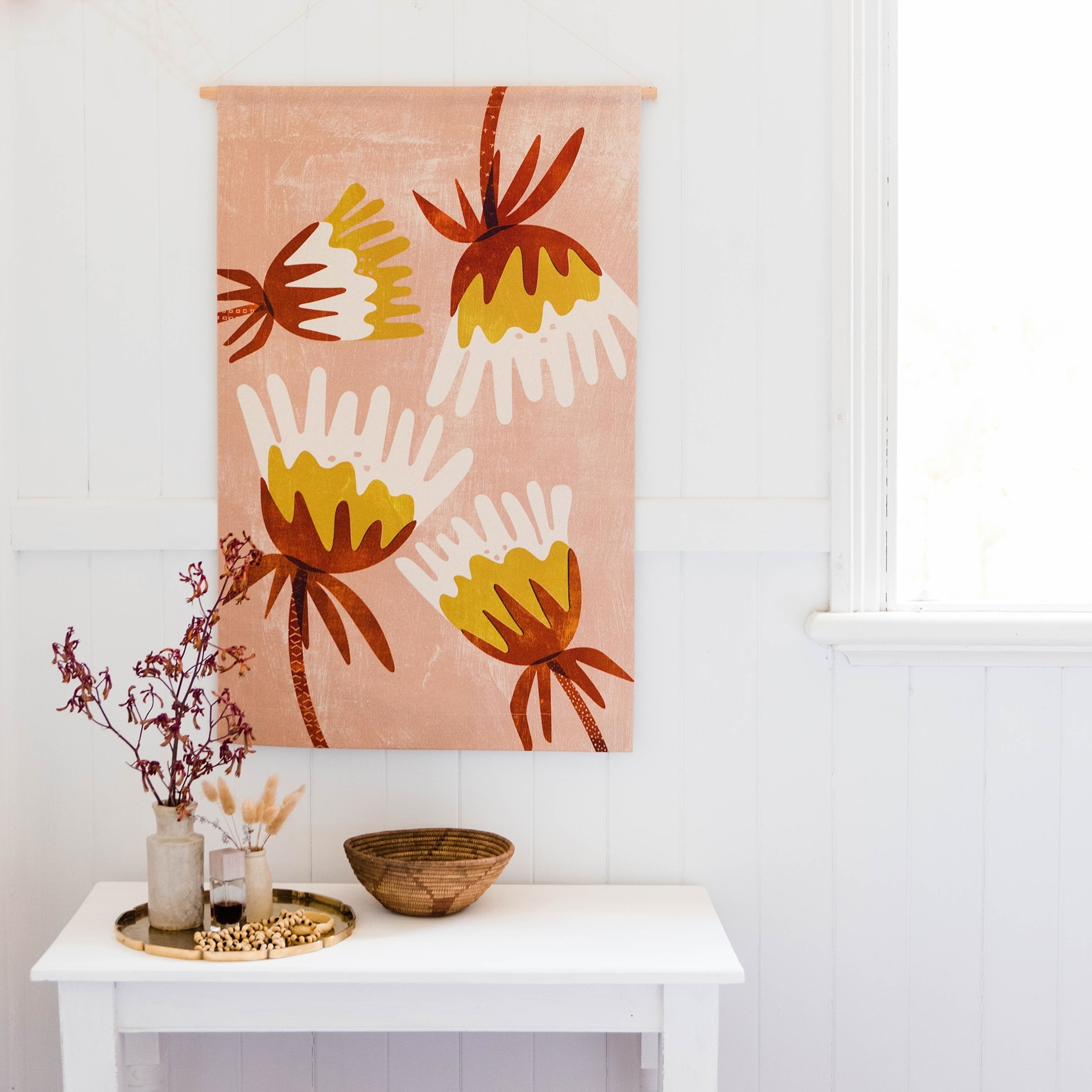 Fabric Wall Hangings Trend & Where To Shop It – Tlc Interiors Intended For Favorite Blended Fabric Poppy Red Wall Hangings (View 9 of 20)
